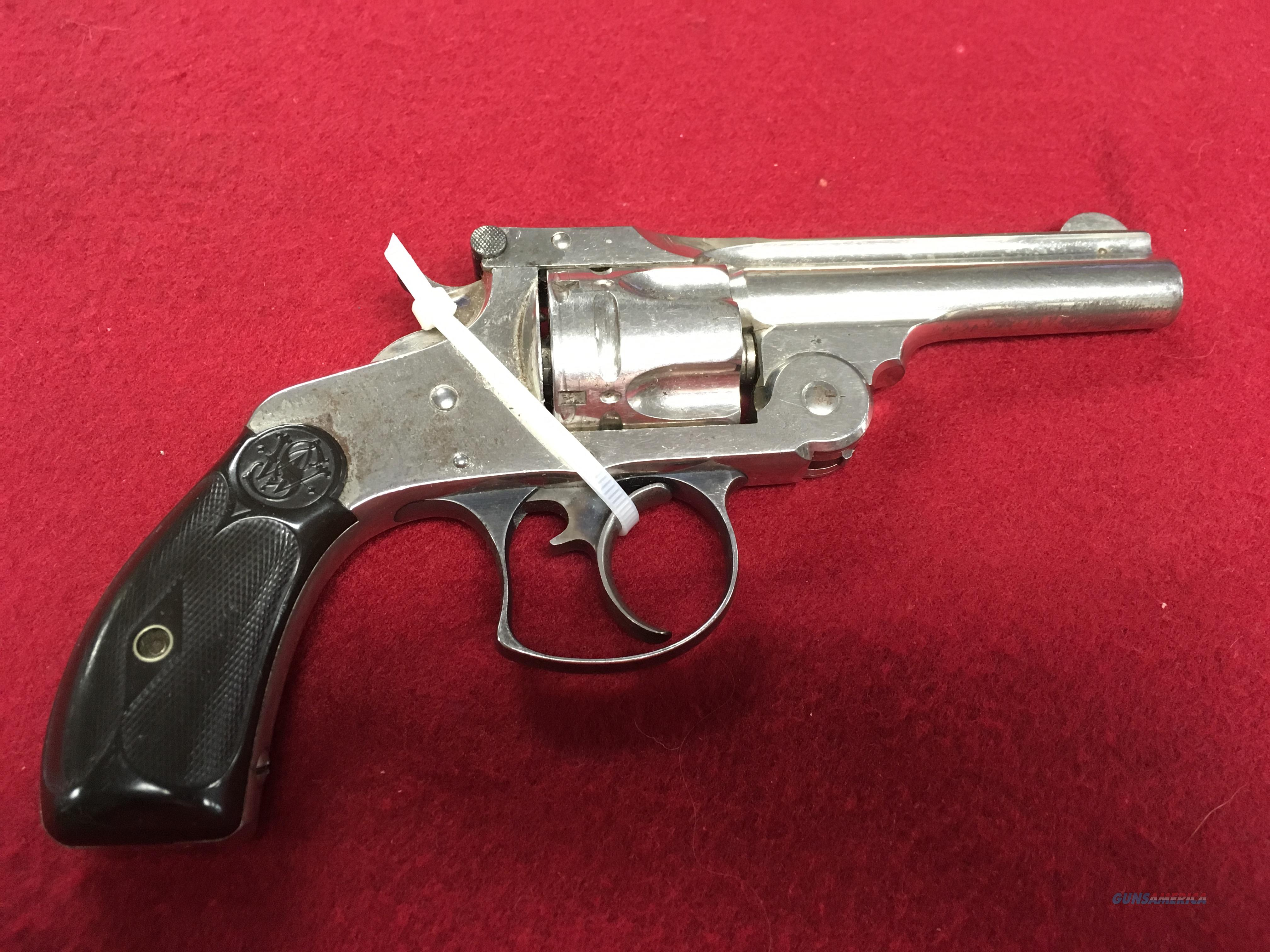 SMITH & WESSON 38 DOUBLE ACTION 2ND MODEL  Guns > Pistols > Smith & Wesson Revolvers > Pre-1899