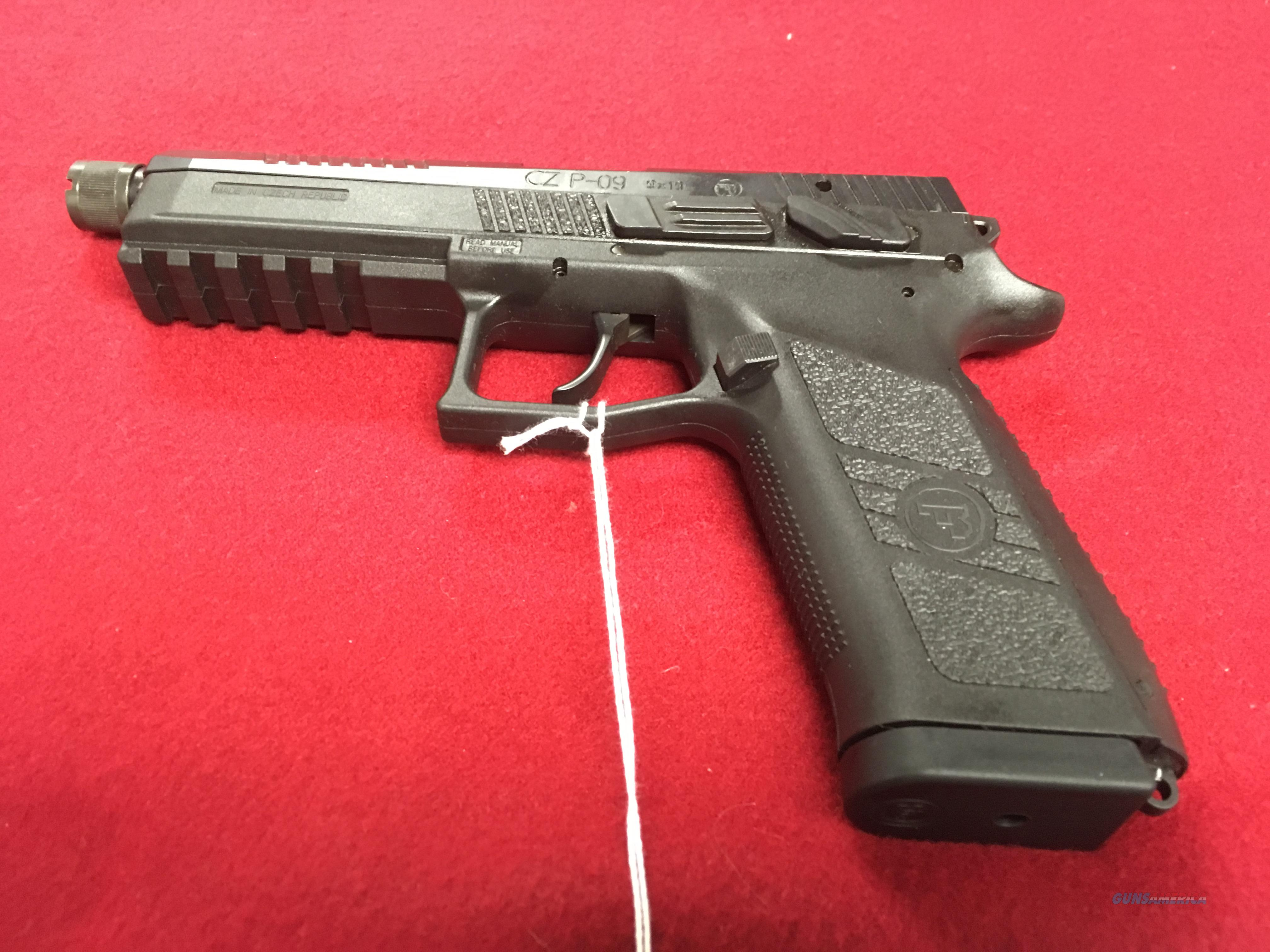 CZ P-09 9MM LUGER THREADED  Guns > Pistols > CZ Pistols