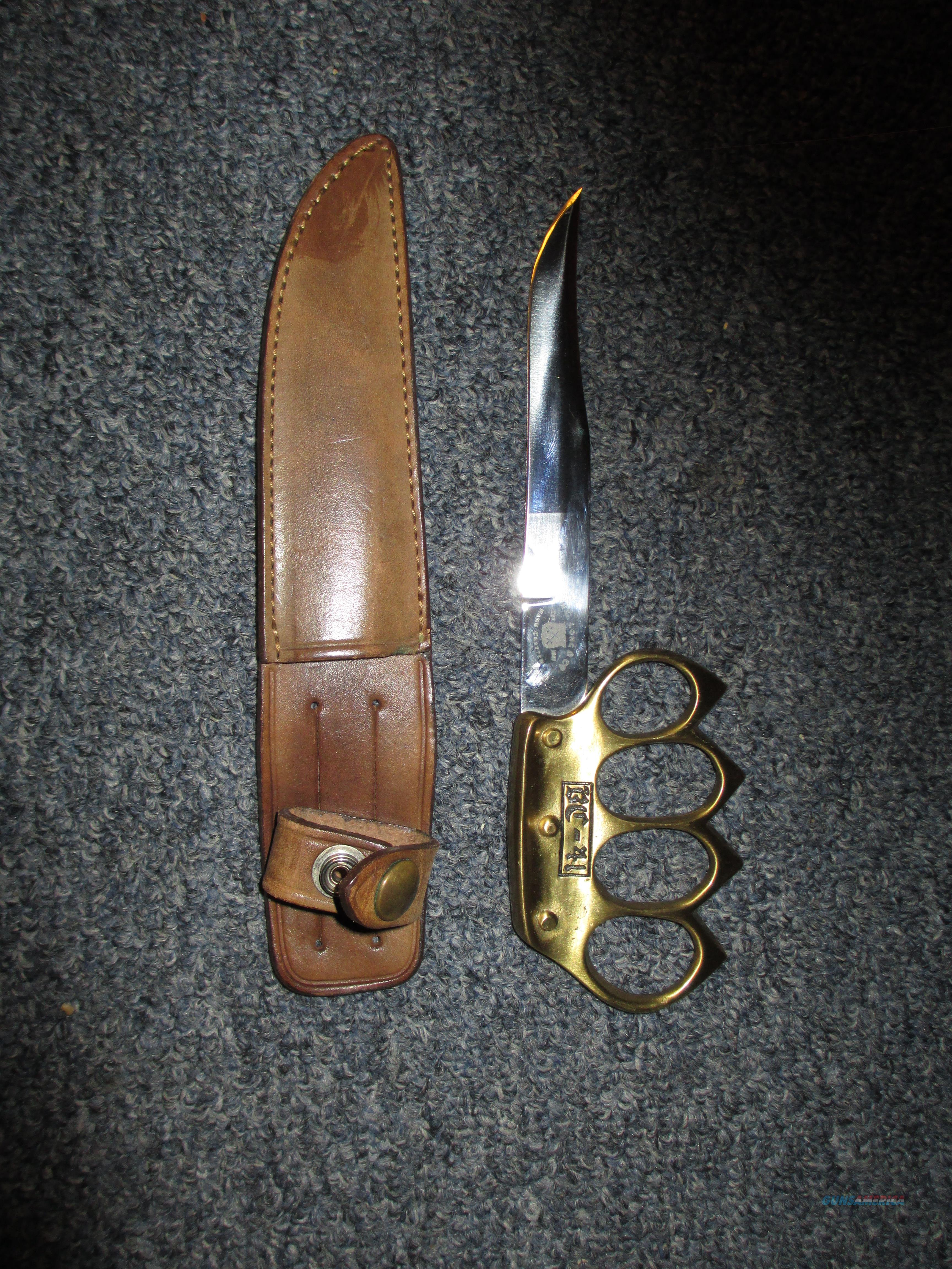 H.G Long & Co  BC-41 knuckle knife    Non-Guns > Knives/Swords > Military > Non-Bayonets