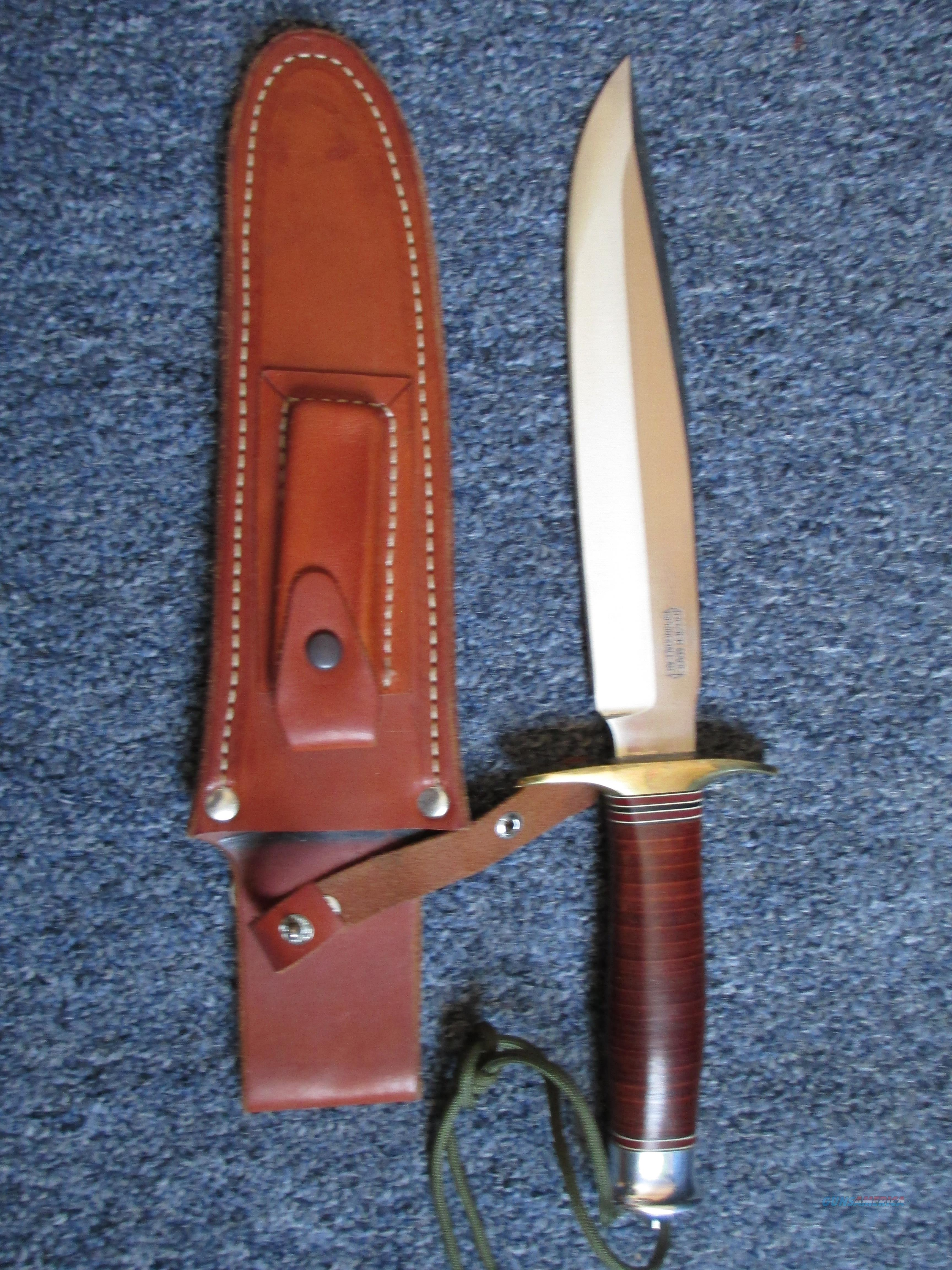 Bob dozier Springfield fighter knife  Non-Guns > Knives/Swords > Knives > Fixed Blade > Hand Made