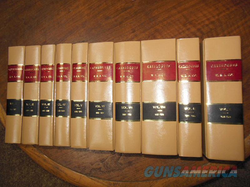 WINCHESTER REPEATING ARMS CO. CATALOGUE BOOK SET - VOLUMES 1 thru 10  Non-Guns > Books & Magazines