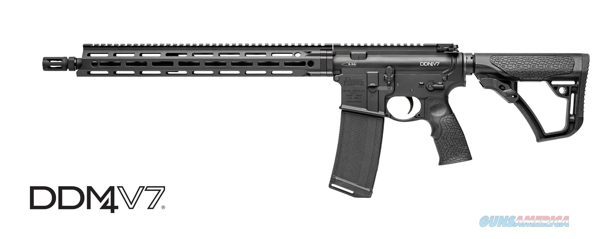 Daniel Defense M4V7 5.56 AR15 rifle  Guns > Rifles > Daniel Defense > Complete Rifles