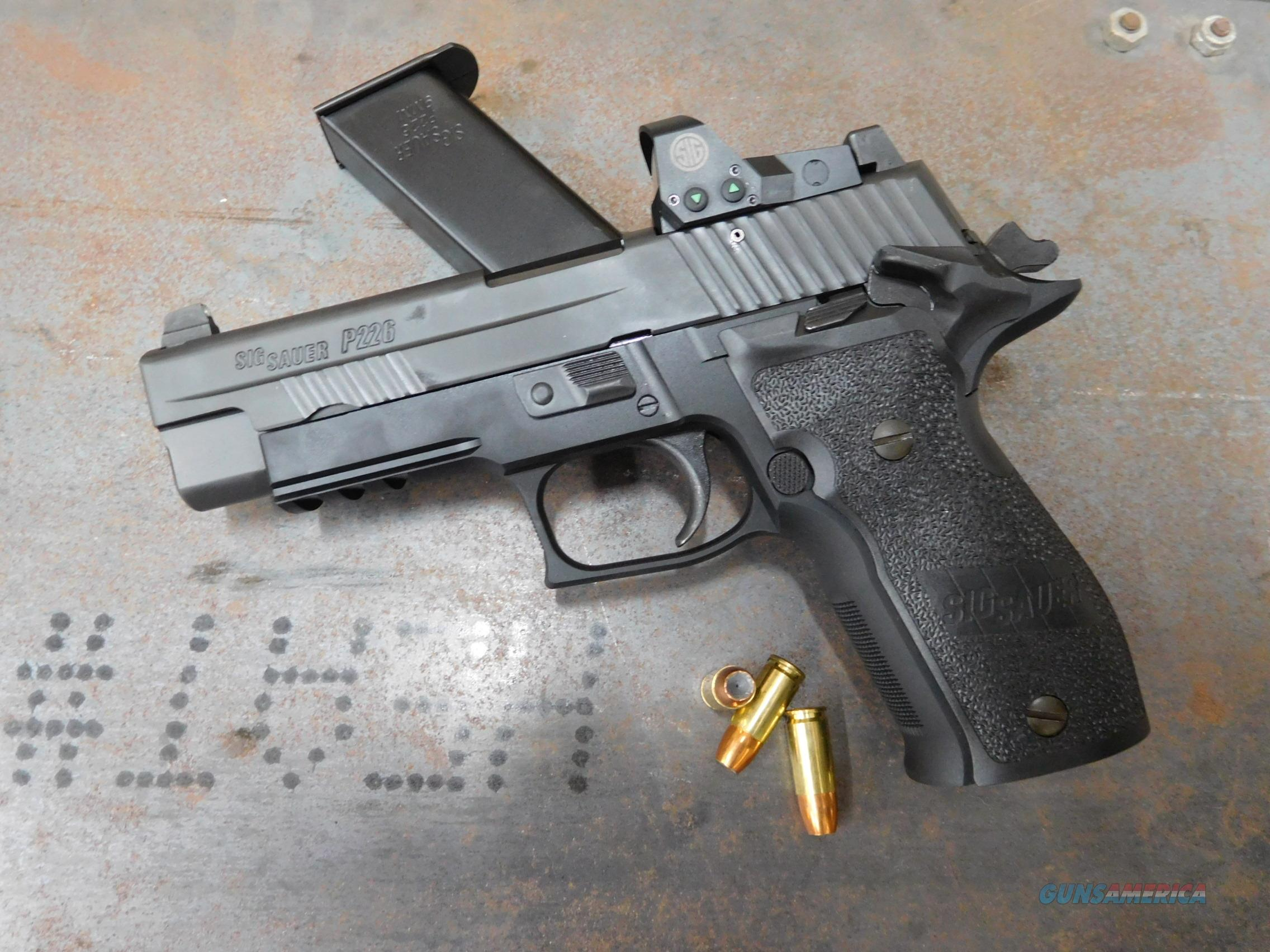 Sig P226 9mm w/Romeo 1 and night sights BRAND NEW  Guns > Pistols > Sig - Sauer/Sigarms Pistols > P226