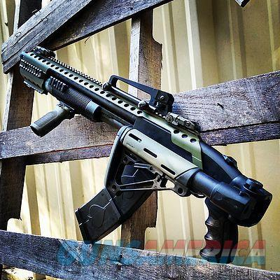 Black Aces Tactrical Hulk 12 ga. 10 rd. ODG  Guns > Shotguns > B Misc Shotguns