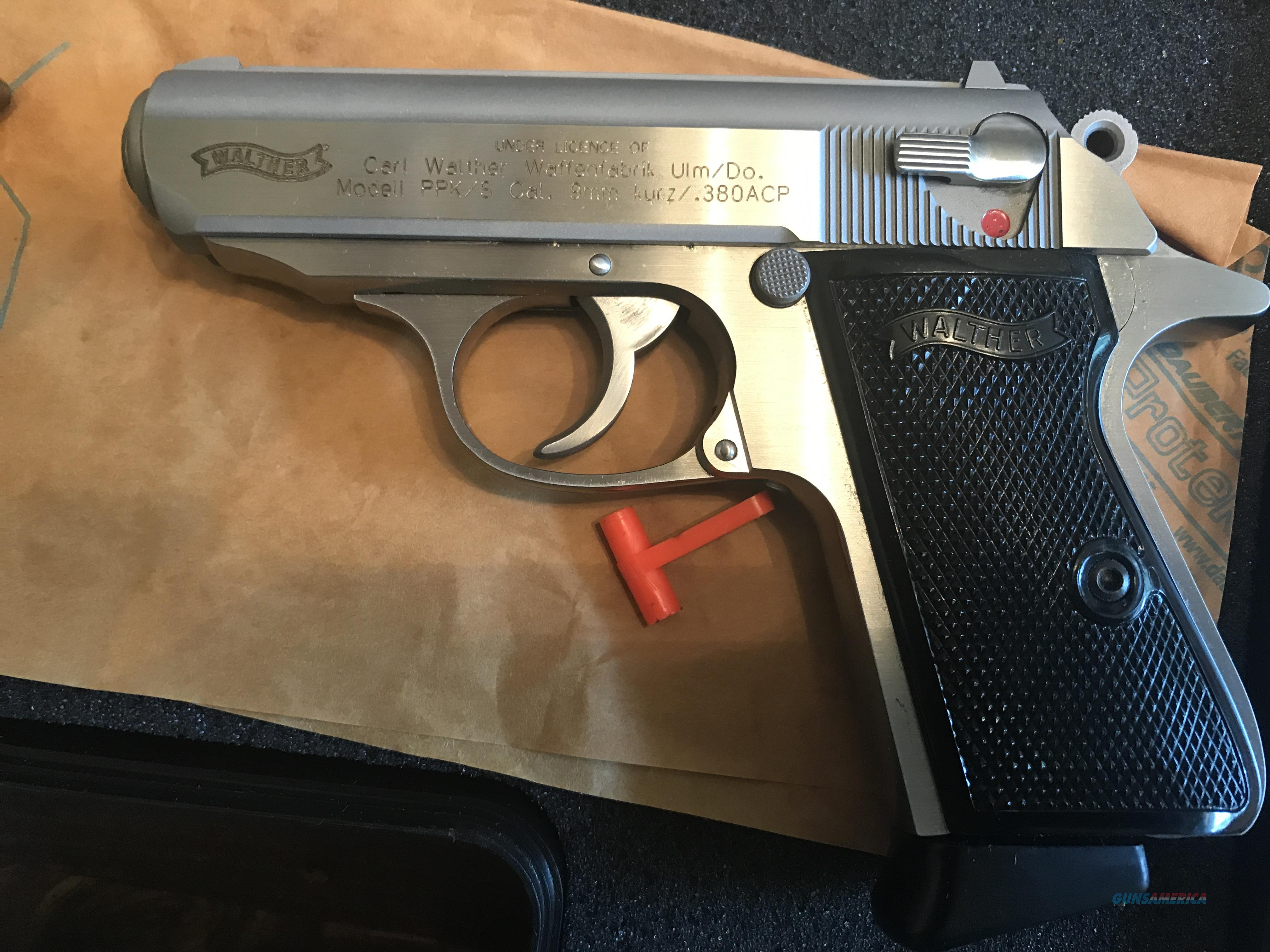 walther ppk/s   like new in box  Guns > Pistols > Smith & Wesson Pistols - Autos > Steel Frame