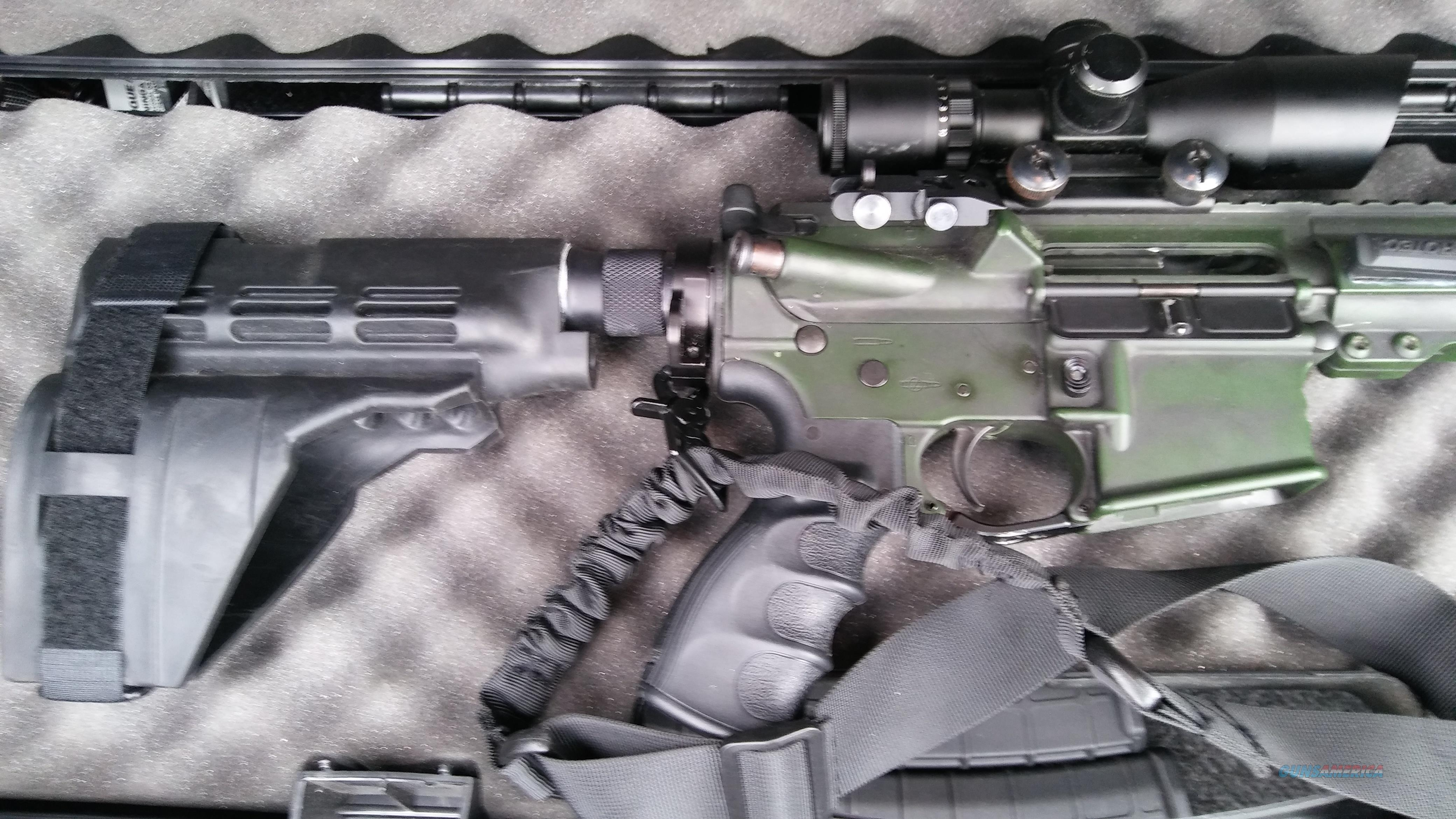 East Coast Customs tactical 300 Blackout pistol  Guns > Rifles > AR-15 Rifles - Small Manufacturers > Complete Rifle