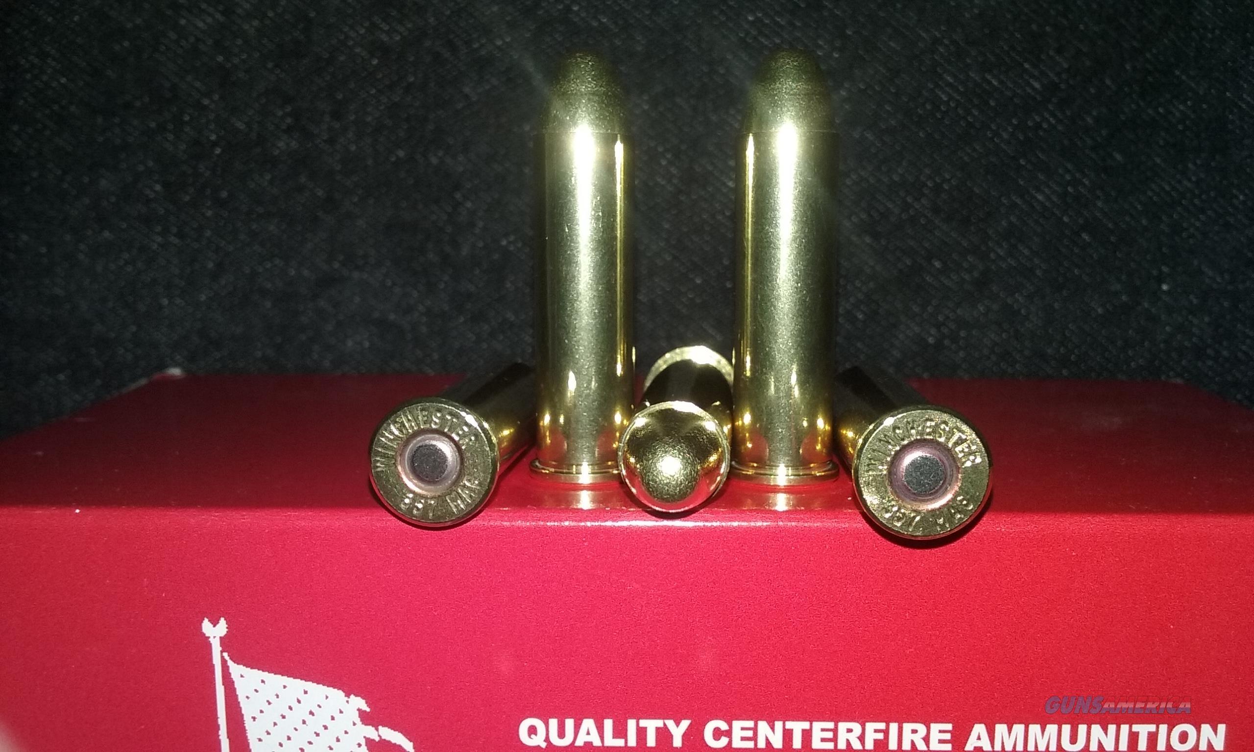 357 Magnum DESERT EAGLE / LAR GRIZZLY / COONAN Ammo. (357 S&W Magnum)  Non-Guns > Ammunition