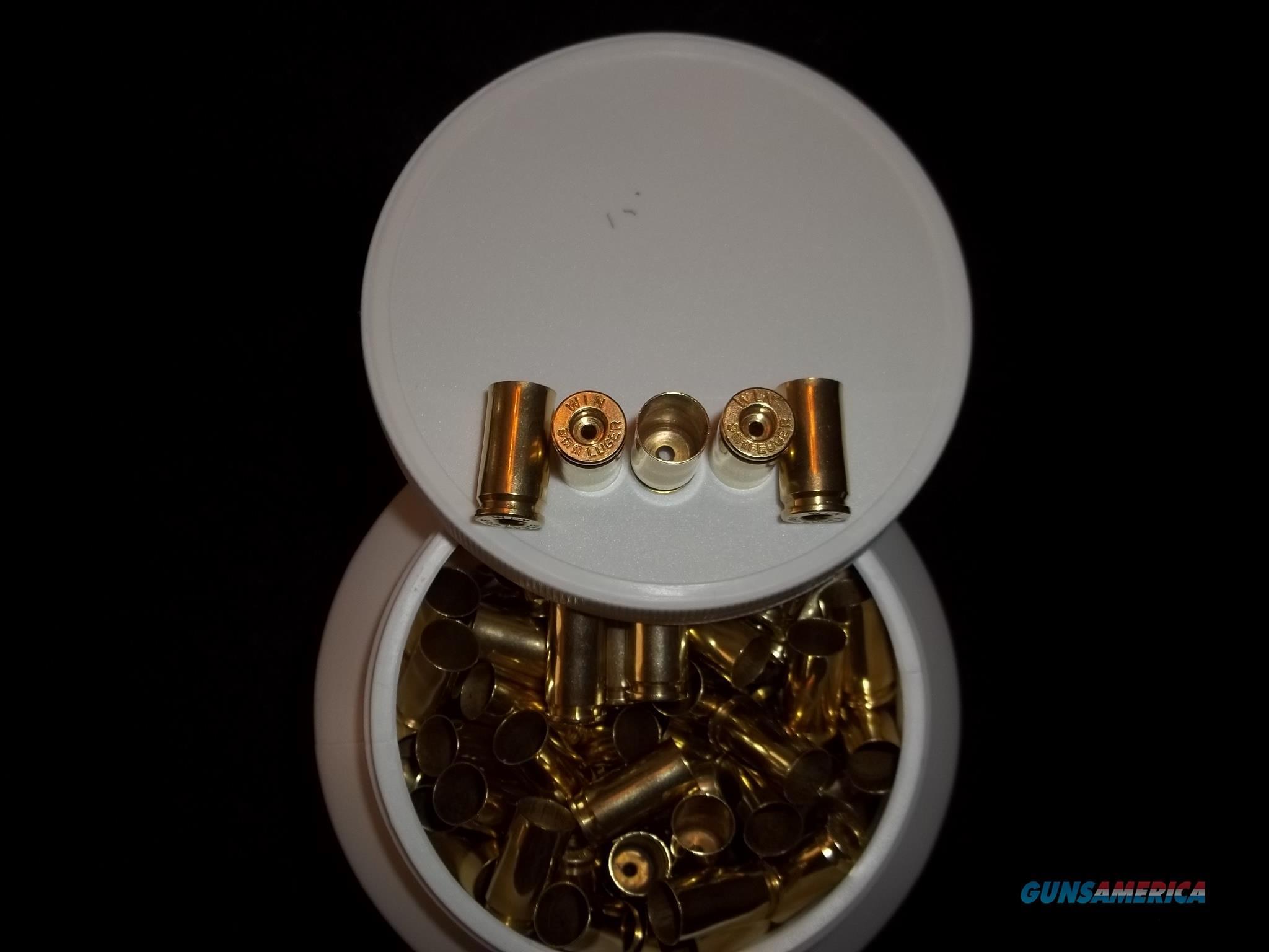 9mm Luger / 9X19 Parabellum Brass  Non-Guns > Reloading > Components > Brass