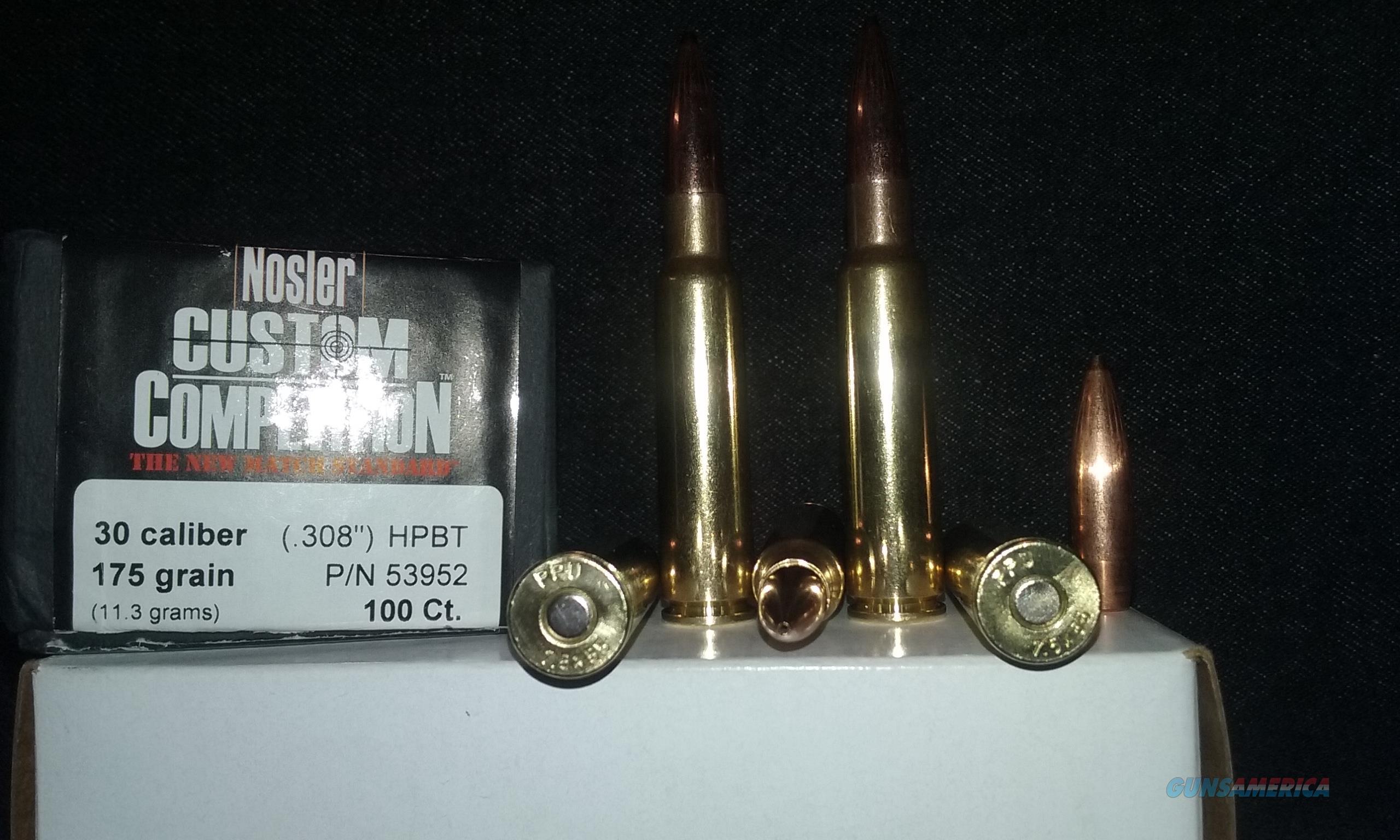 7.5X55 Schmidt Rubin MATCH Ammo. (7.5X55 Swiss)  Non-Guns > Ammunition