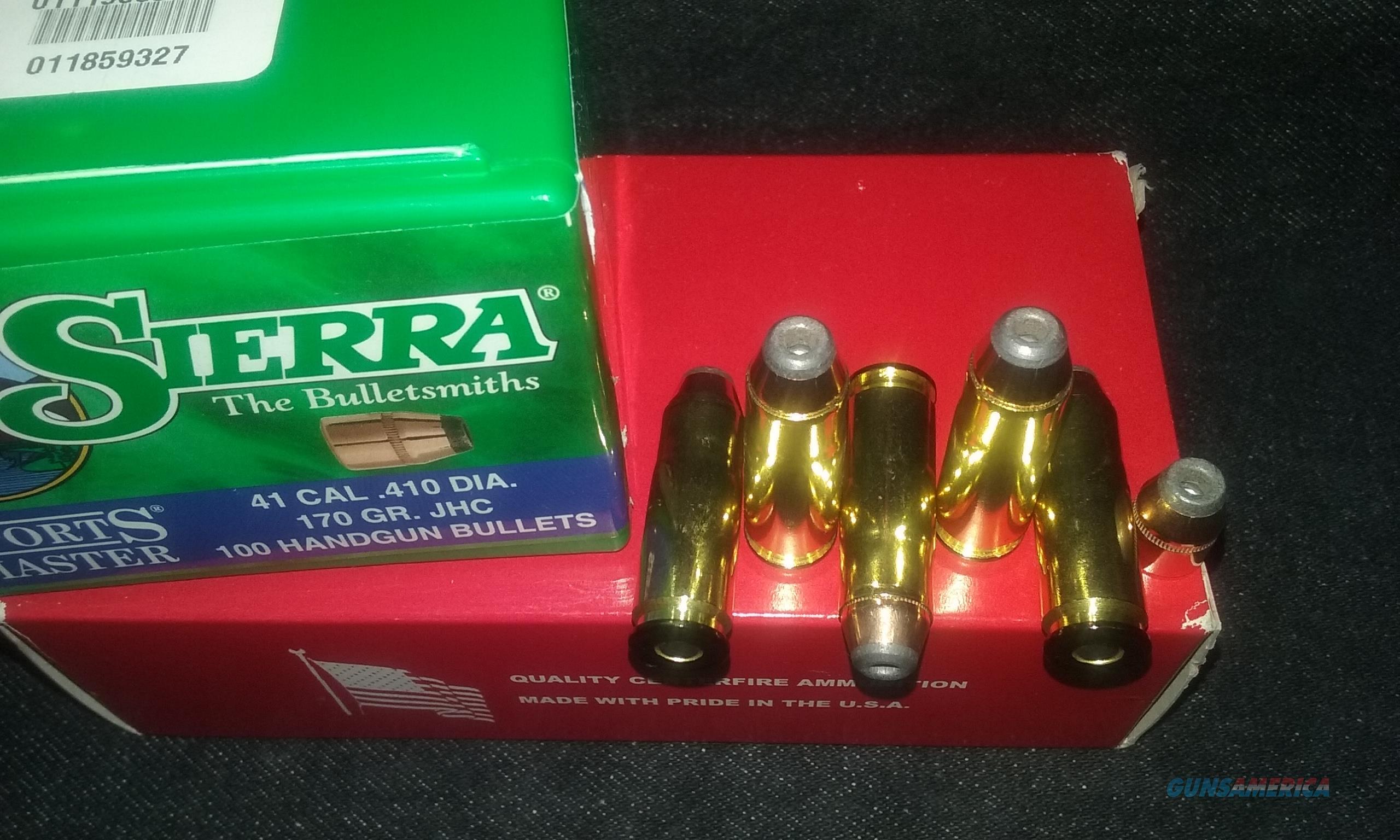 41 Auto Mag. Ammo. (44 AMP / 41 JMP / 41 Jurras)  Non-Guns > Ammunition