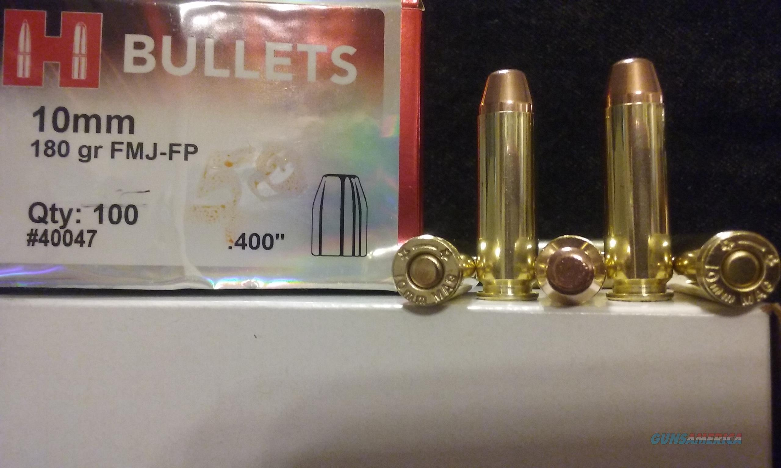 10mm MAGNUM Ammo. (10mm AMP)  Non-Guns > Ammunition
