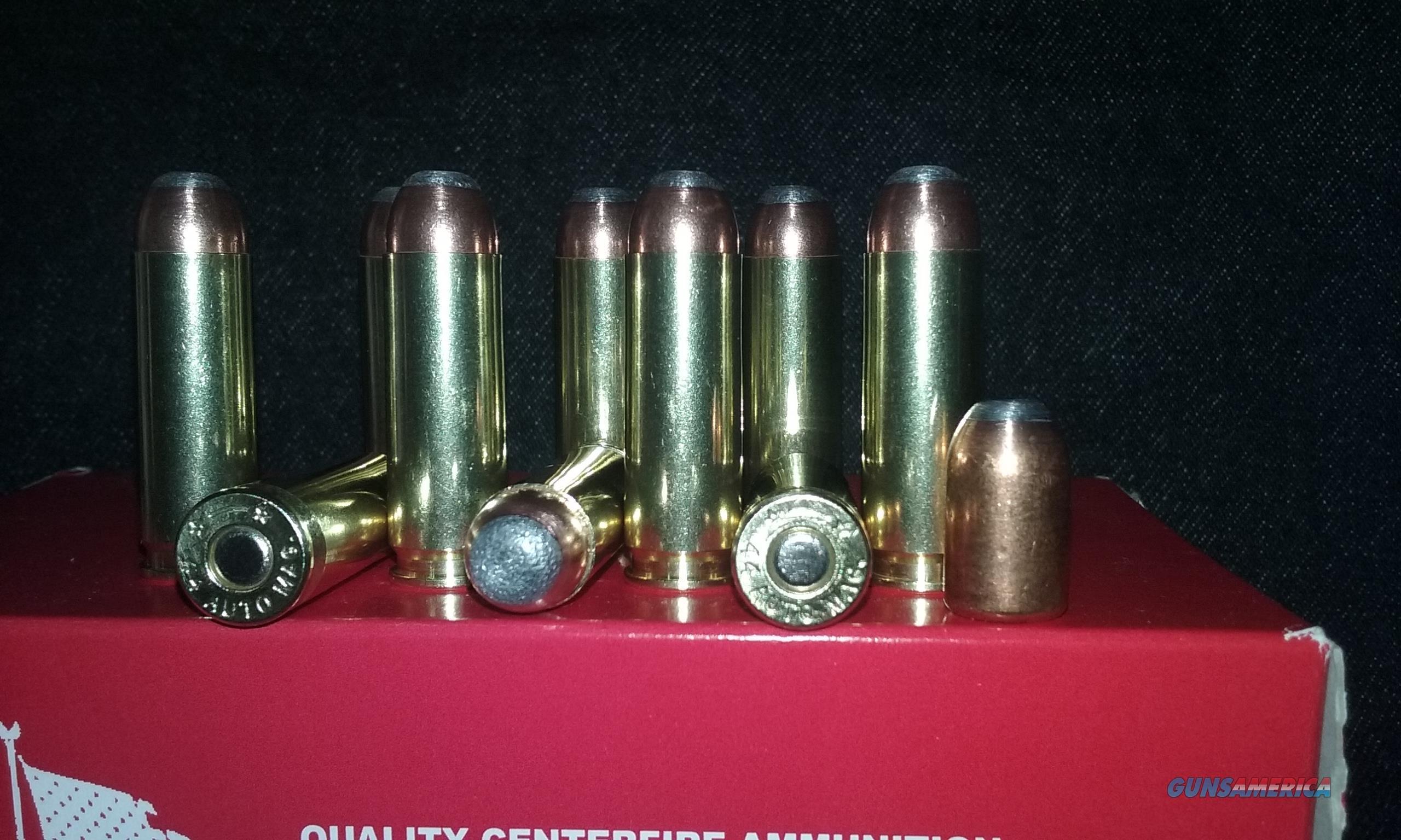 44 Auto Mag. Ammo. (44 AMP)  Non-Guns > Ammunition