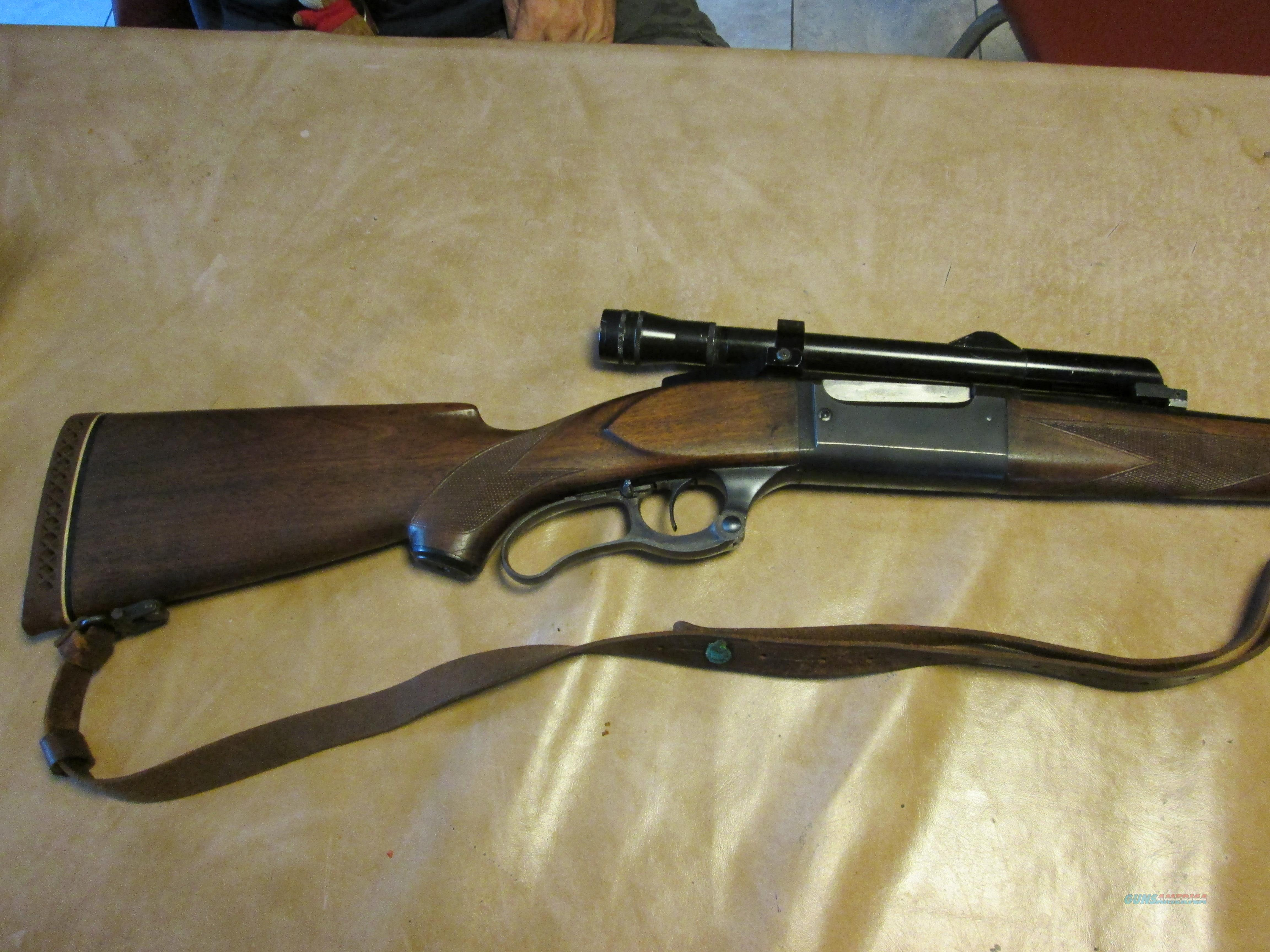 savage 250-3000 model 99 with rare kollmorgan bear cub scope with stith mounts  Guns > Rifles > Savage Rifles > Model 95/99 Family