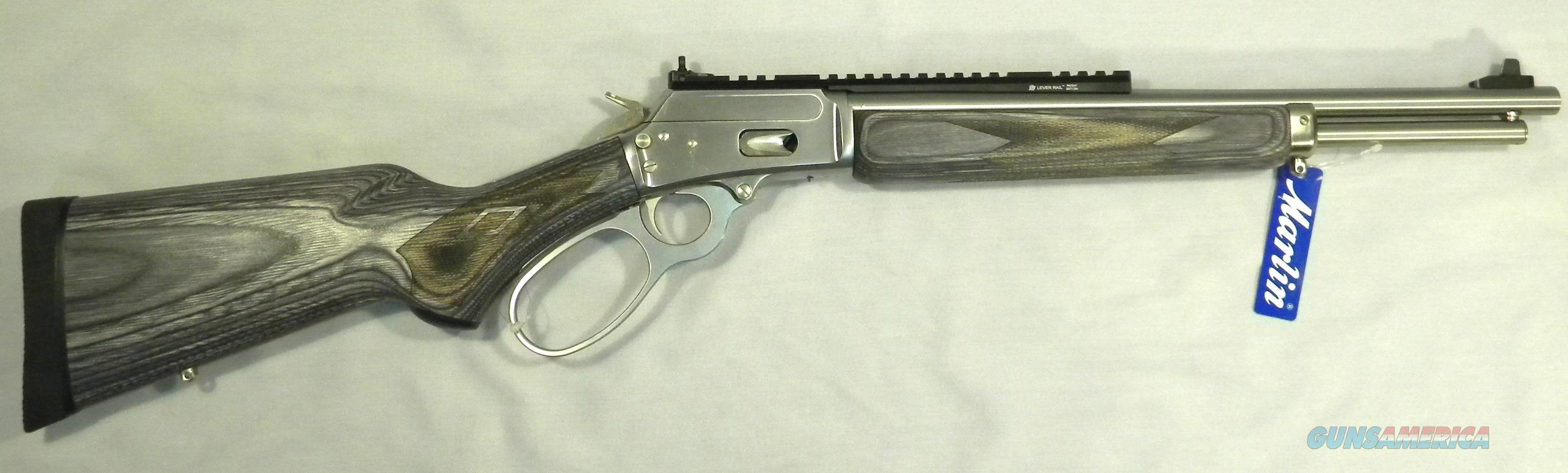 Marlin 1894 CSBL, Stainless .357 Magnum Lever-Action Rifle  Guns > Rifles > Marlin Rifles > Modern > Lever Action