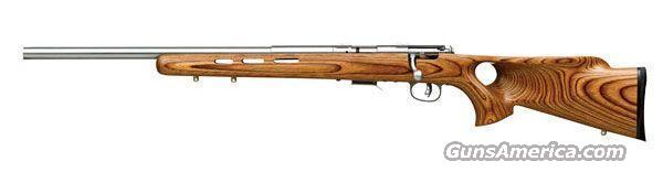 Savage 93R17SS Left Handed Target Rifle .17 HMR  Guns > Rifles > Savage Rifles > Accutrigger Models > Sporting