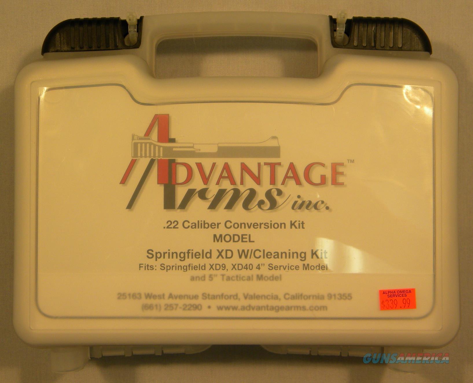 Advantage Arms .22LR Conversion Kit For Springfield XD-9 & XD-40  Non-Guns > Gun Parts > Misc > Pistols