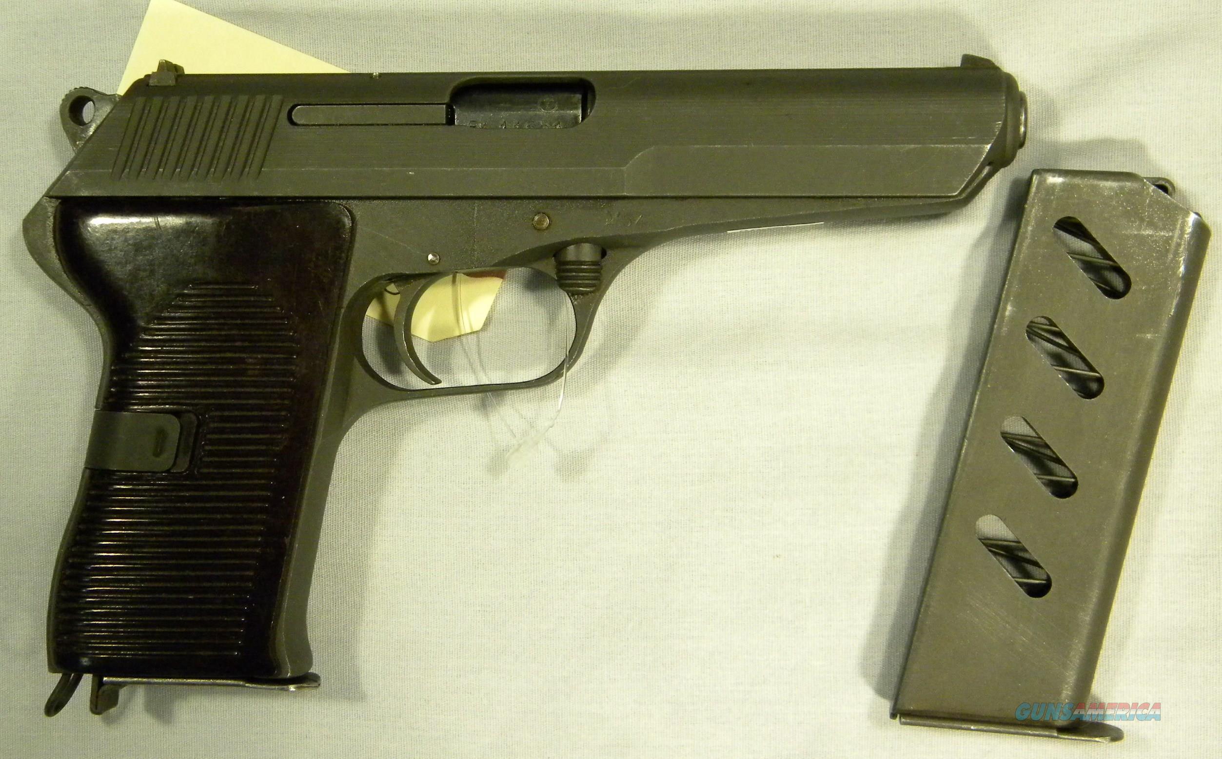 CZ-52 7.62x25 Semi-Automatic Pistol In As-New Condition!  Guns > Pistols > CZ Pistols