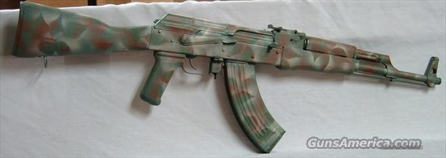 AK 47 woodland camo  Guns > Rifles > AK-47 Rifles (and copies) > Full Stock