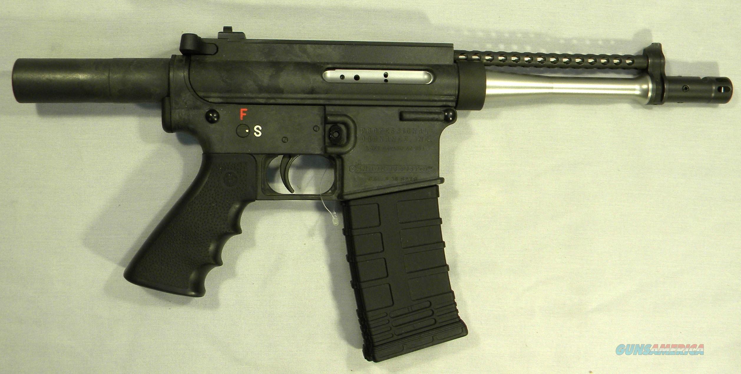 Professional Ordnance P20/Carbon 15, .223 Semi-Auto Pistol  Guns > Pistols > PQ Misc Pistols