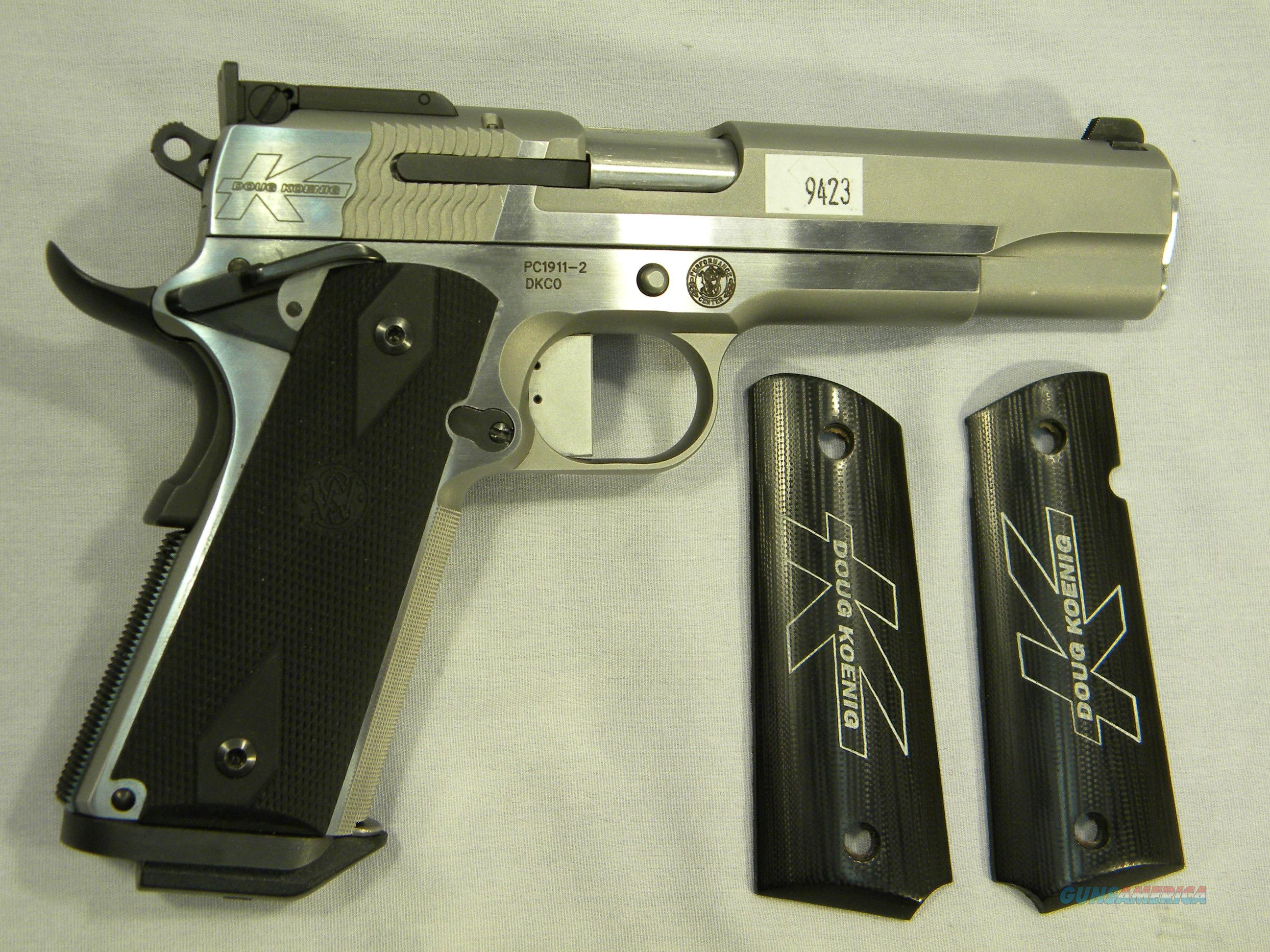 "As-New In Box S&W ""Doug Koenig"" 1911 in .38 Super, Stainless Semi-Auto Pistol  Guns > Pistols > Smith & Wesson Pistols - Autos > Steel Frame"