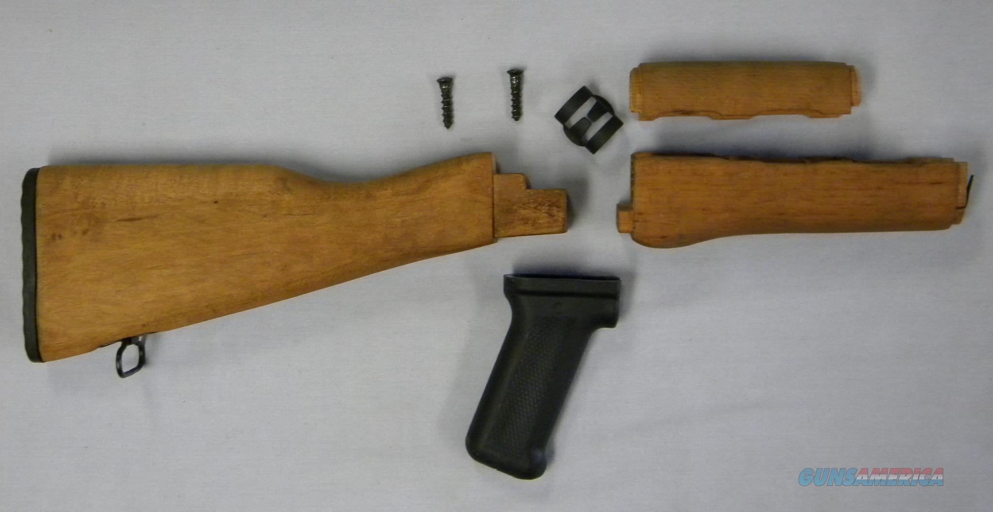 Standard AK-Pattern Stock Sets, Solid Wood, Sanded/Oiled, ''Military New'', Free Shipping!  Non-Guns > Gunstocks, Grips & Wood