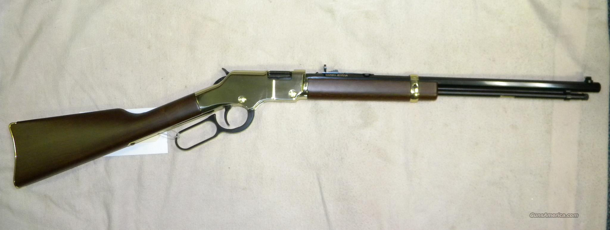 Henry H004 ''Golden Boy'' .22 LR Lever-Action  Guns > Rifles > Henry Rifle Company