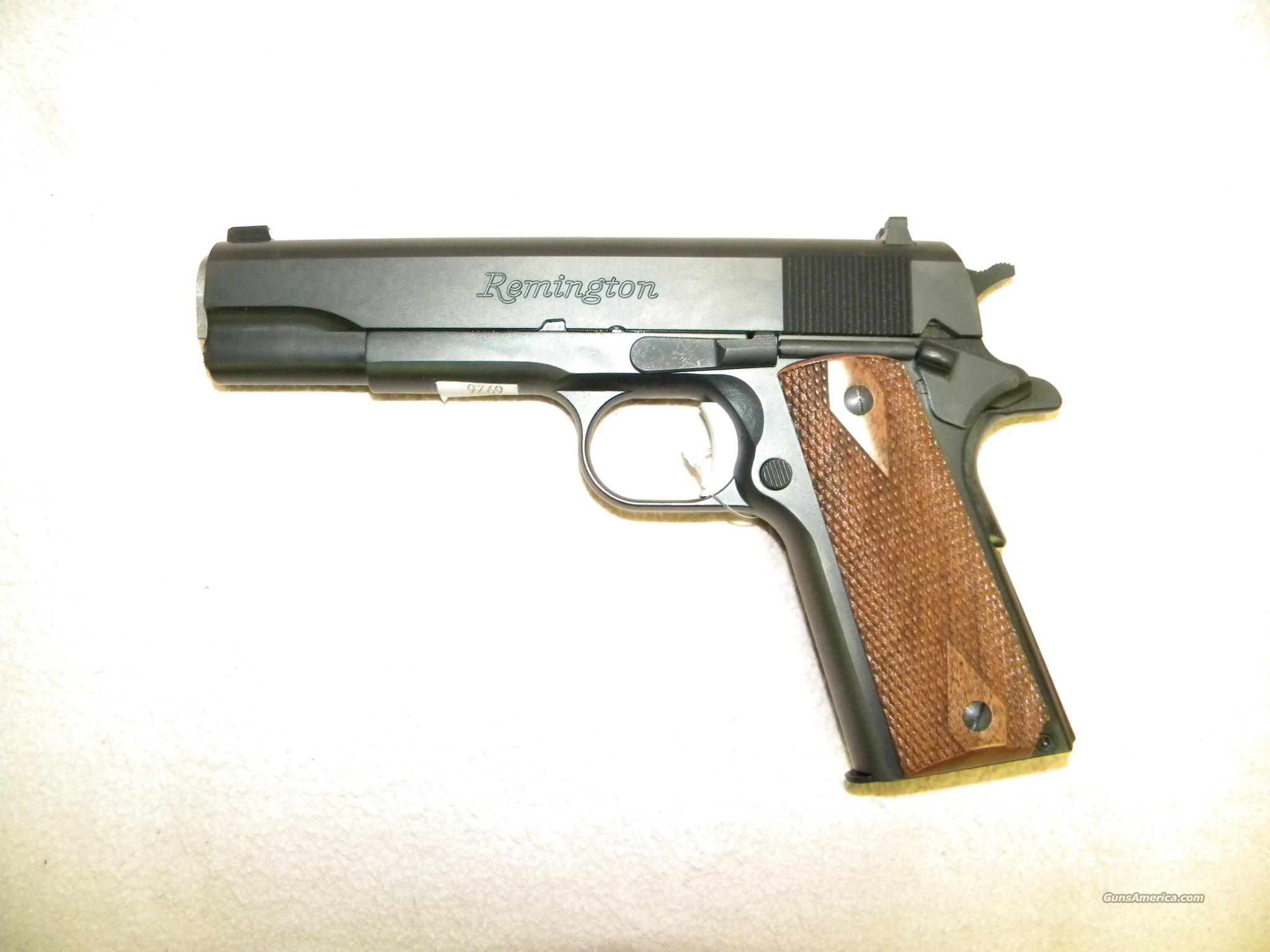 Remington 1911-R1  Guns > Pistols > Remington Pistols - Modern