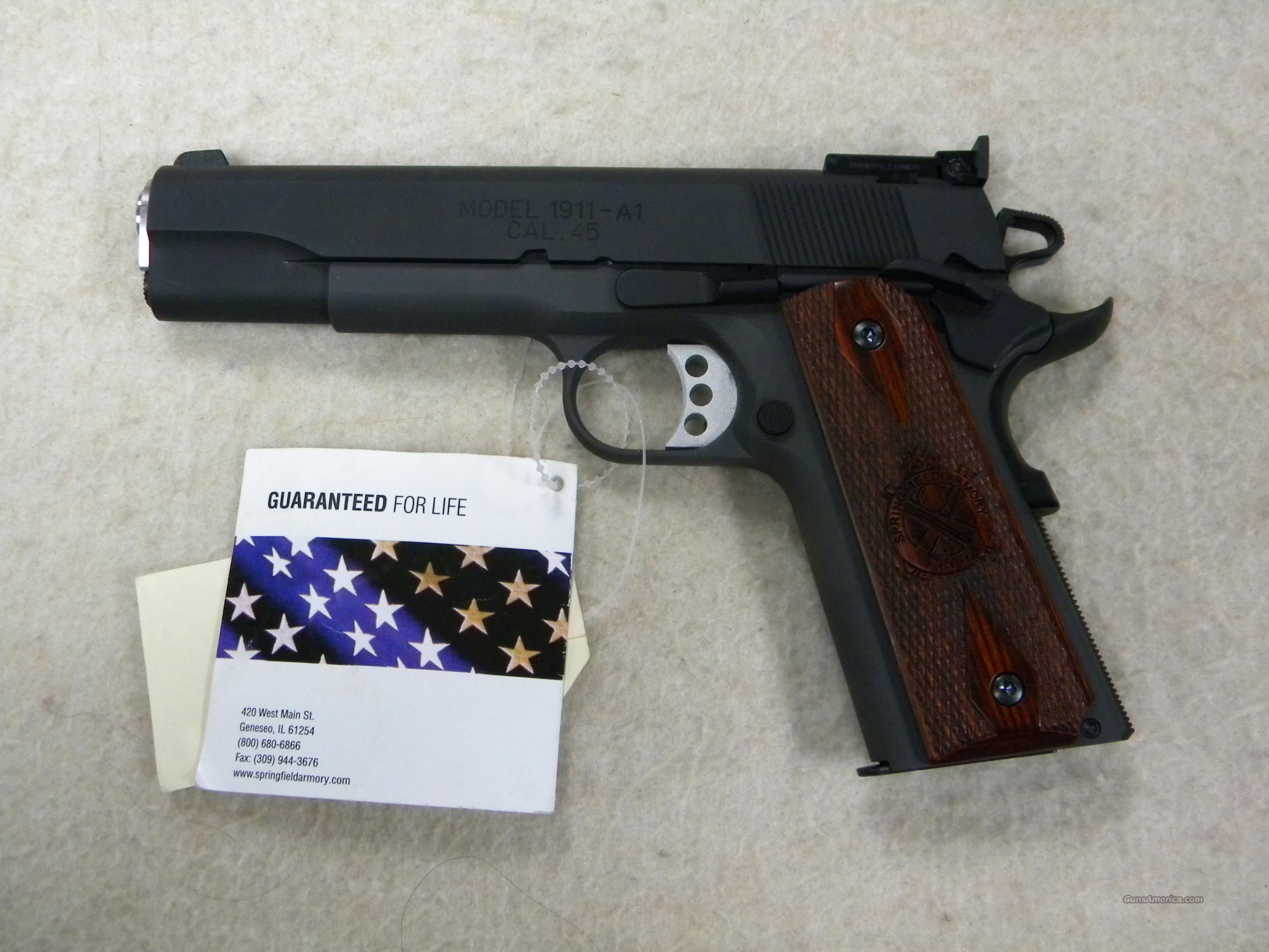 Springfield Armory 1911-A1 'Range Officer', .45 ACP  Guns > Pistols > Springfield Armory Pistols > 1911 Type