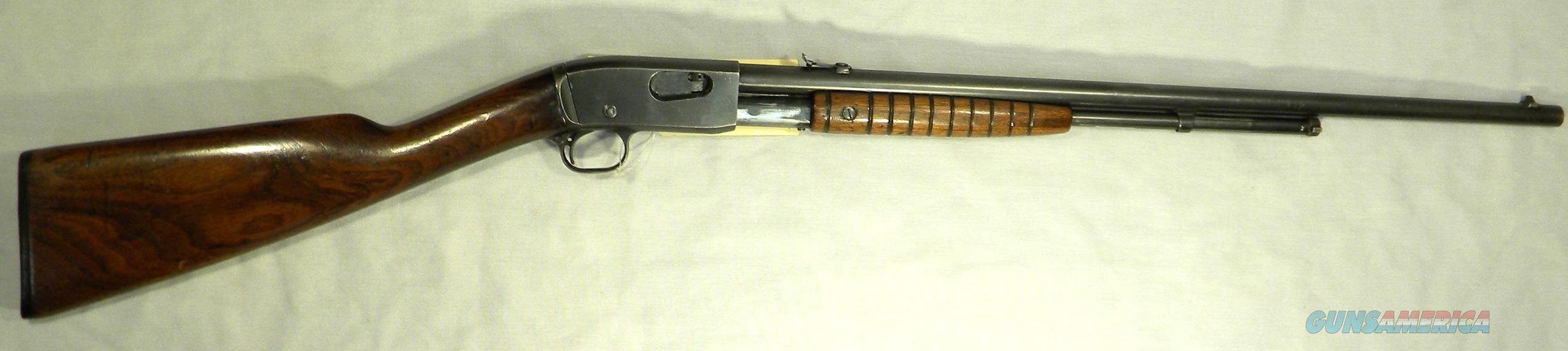Remington 12A Take-Down, .22 Short, Long, Long Rifle Pump-Action Rifle  Guns > Rifles > Remington Rifles - Modern > .22 Rimfire Models