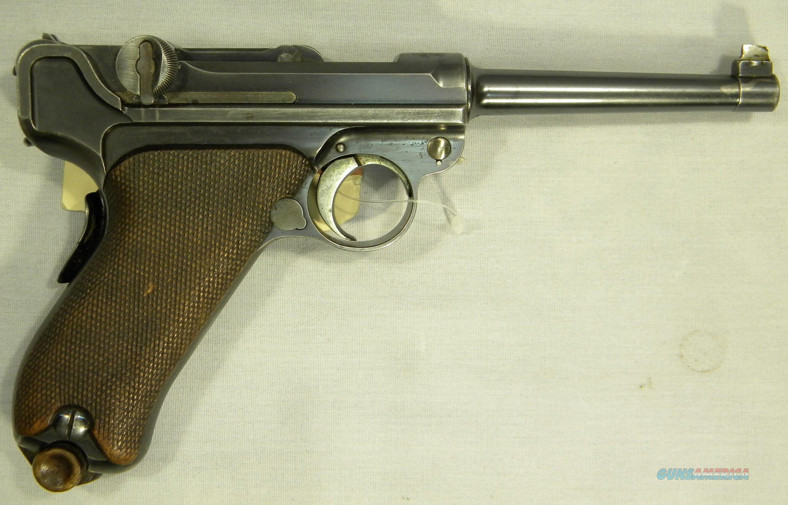 DWM Mdl 1900 'American Eagle' Luger, .30 Luger  Guns > Pistols > Luger Pistols