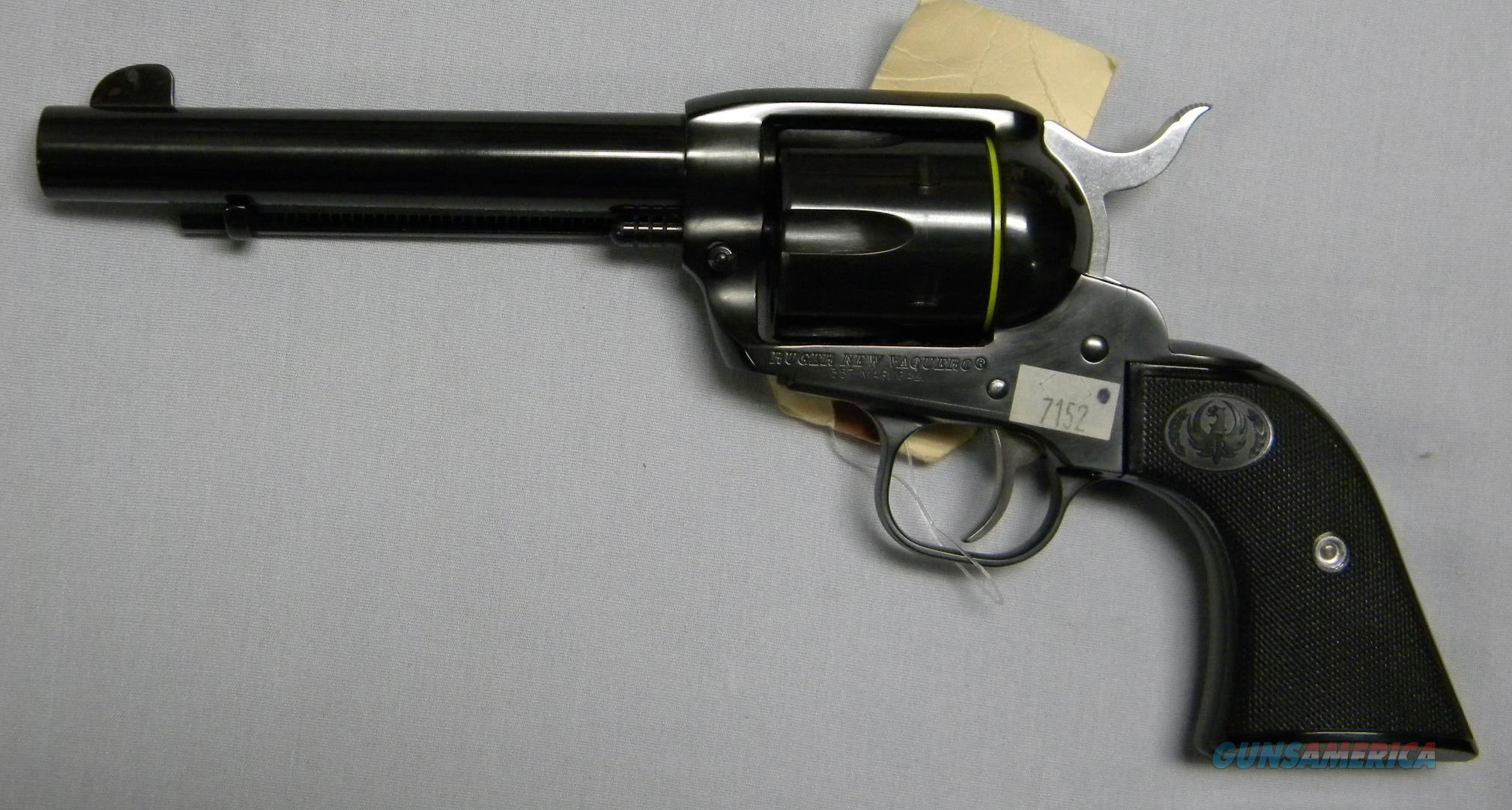 "Ruger New Vaquero, .357 Magnum, 5-1/2"" Blued Finish  Guns > Pistols > Ruger Single Action Revolvers > Cowboy Action"
