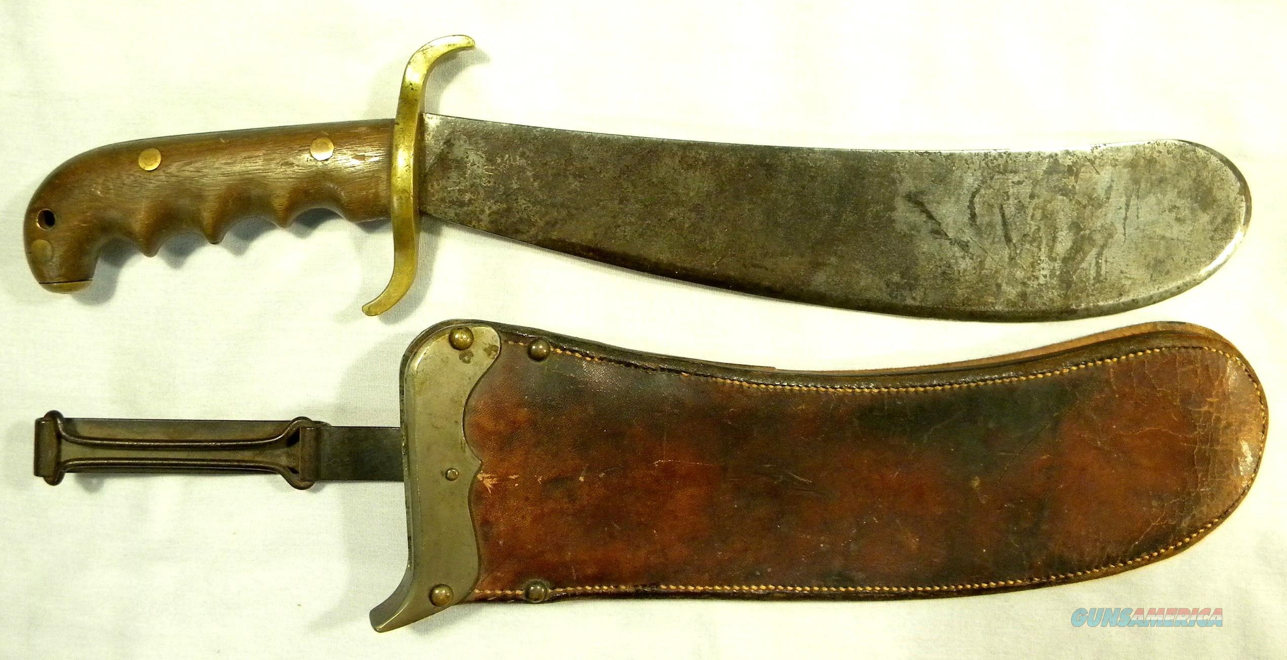 M1904 US Army Hospital Corp Bolo Knife, With Sheath, Made In 1910 At The Springfield Armory In MA  Non-Guns > Knives/Swords > Military > Non-Bayonets