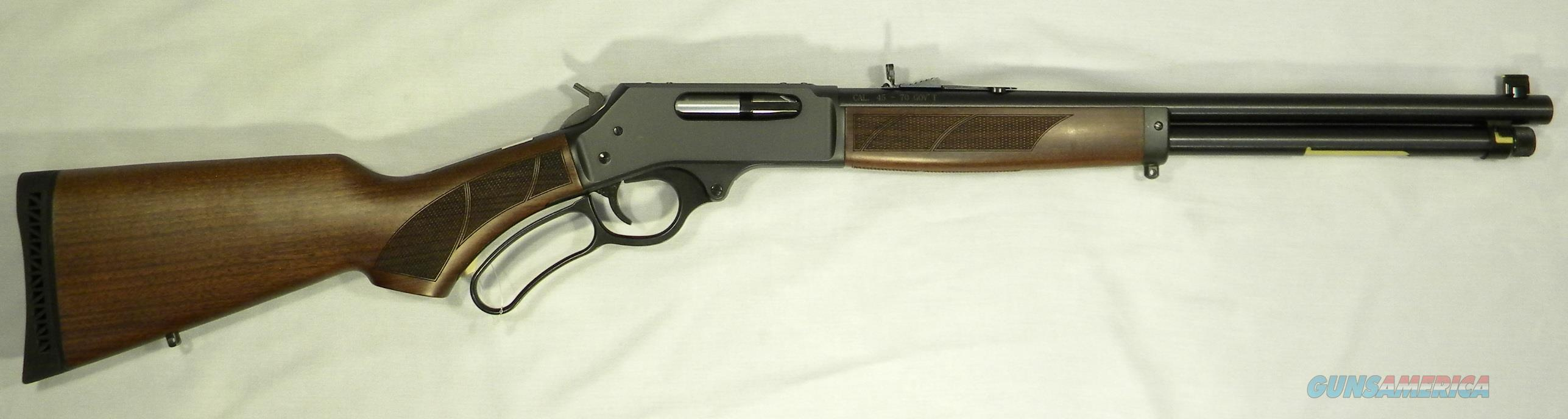 Henry H010, Steel Frame .45-70 Gov't. Lever-Action Rifle  Guns > Rifles > Henry Rifle Company