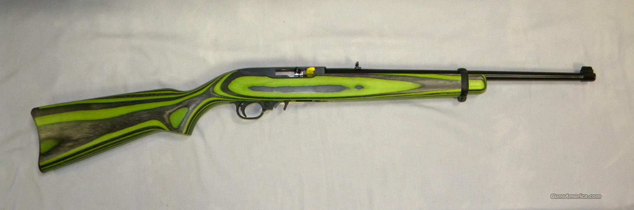 Ruger 10 22 Quot Zombie Quot Green Laminated Stock 2 For Sale