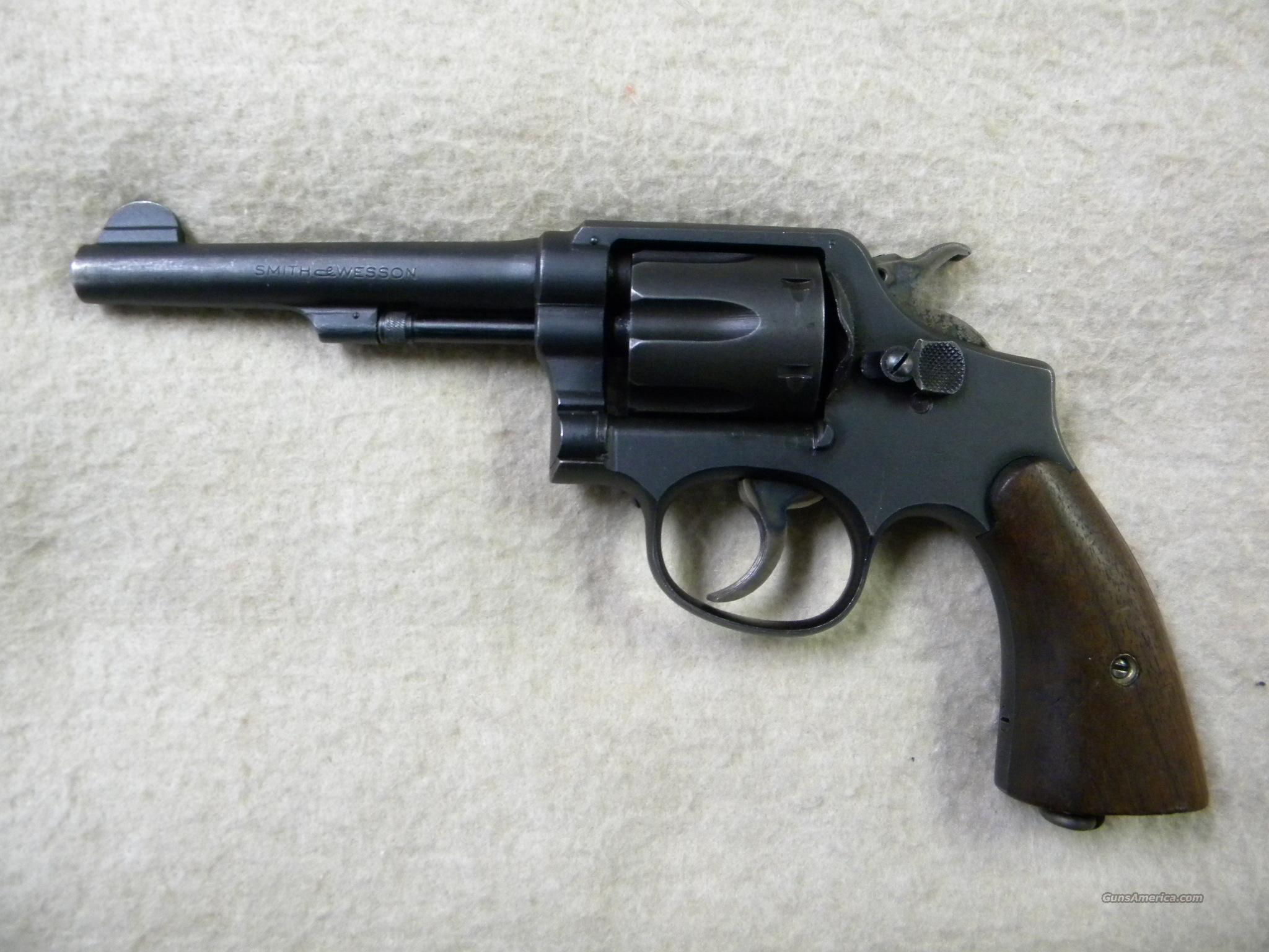 Smith & Wesson 'Victory' Model 10, .38 S&W  Guns > Pistols > Smith & Wesson Revolvers > Full Frame Revolver