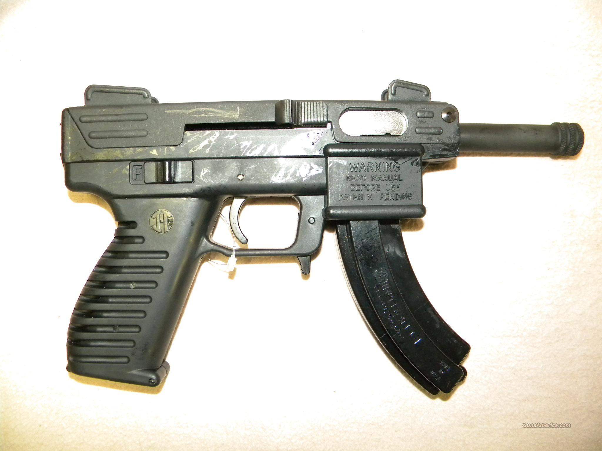 "Intratec TEC-22 ""Scorpion"", .22LR Pistol, Uses Ruger 10/22 Mags!  Guns > Pistols > Intratec Pistols"