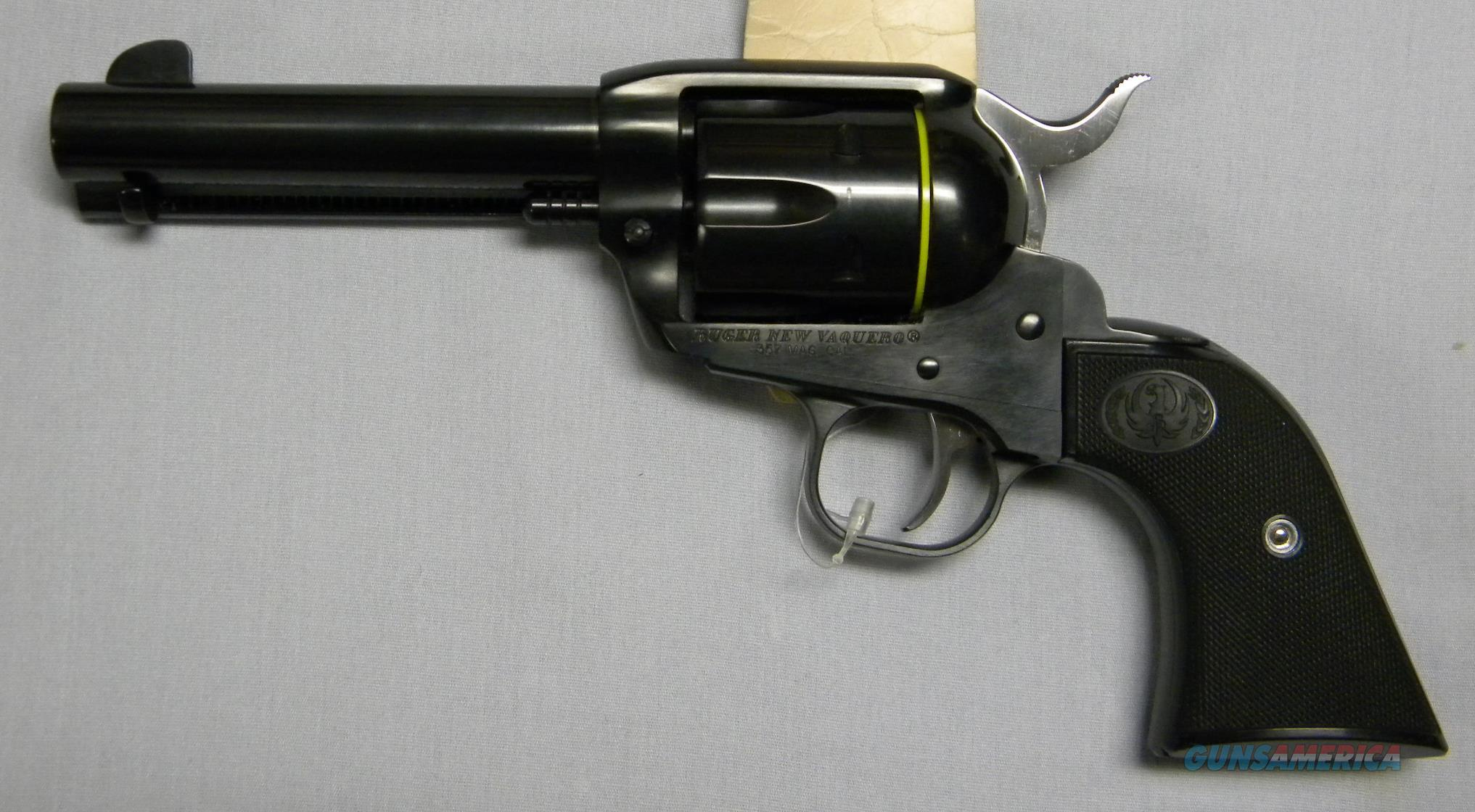 "Ruger New Vaquero, .357 Magnum, 4-5/8""  Guns > Pistols > Ruger Single Action Revolvers > Cowboy Action"