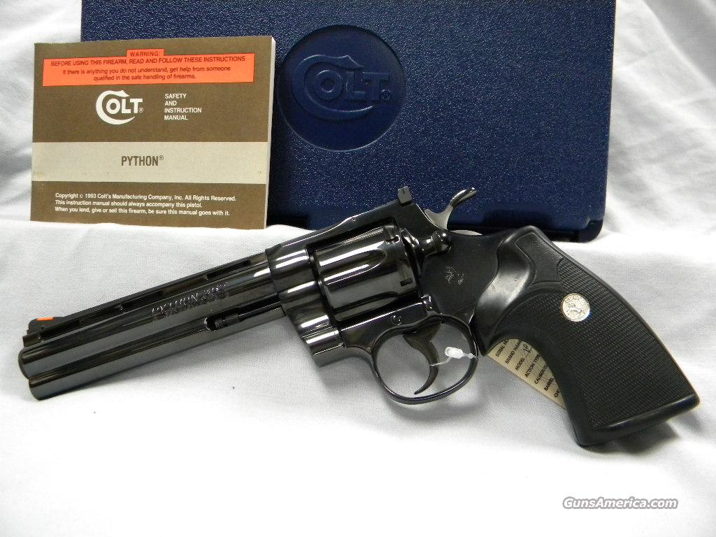 Colt Python -NEW-  Guns > Pistols > Colt Double Action Revolvers- Modern