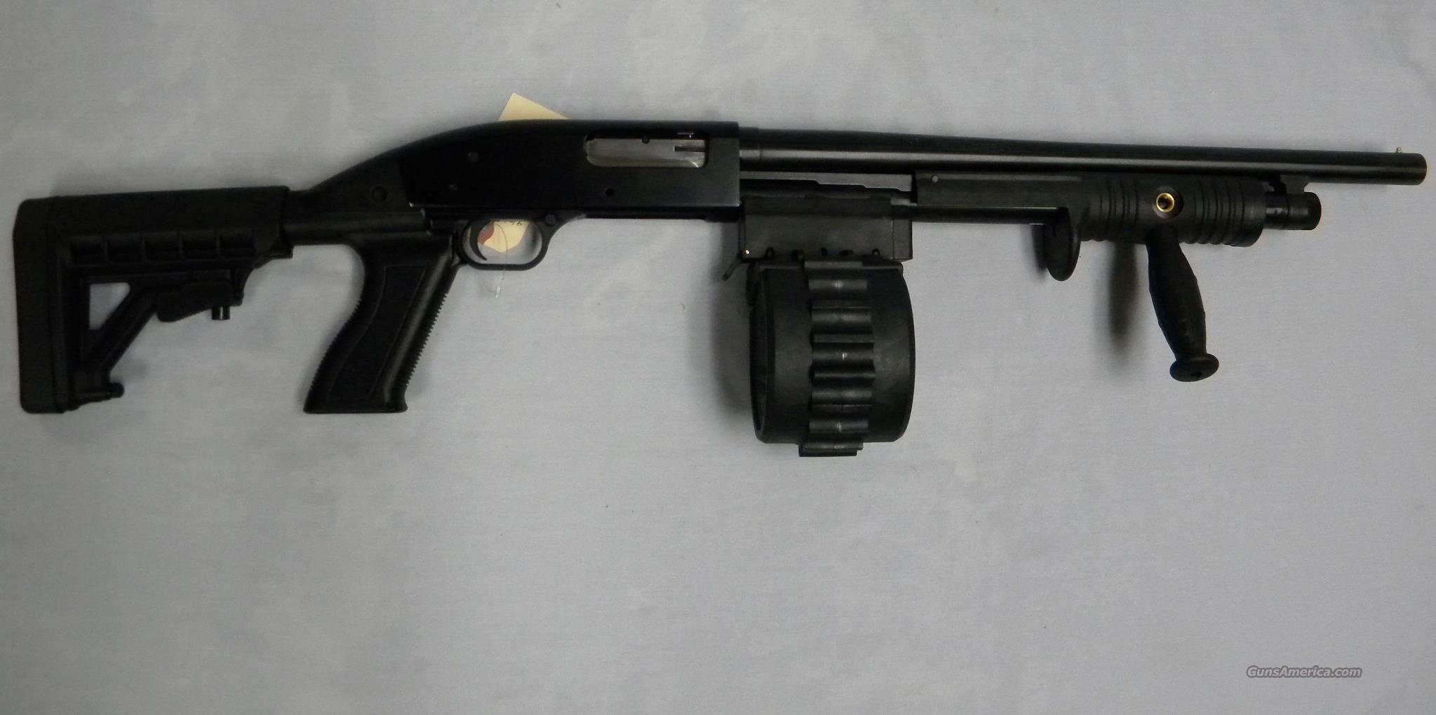 Adaptive Tactical 'Sidewinder Venom' 12 Ga Pump, Maverick 88 Shotgun  Guns > Shotguns > Maverick Shotguns