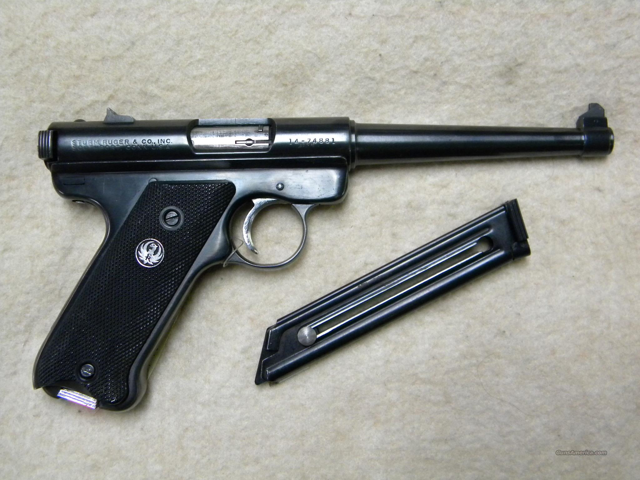"Ruger 'Standard', .22 LR, 6"" Tapered Barrel  Guns > Pistols > Ruger Semi-Auto Pistols > Mark I/II/III Family"
