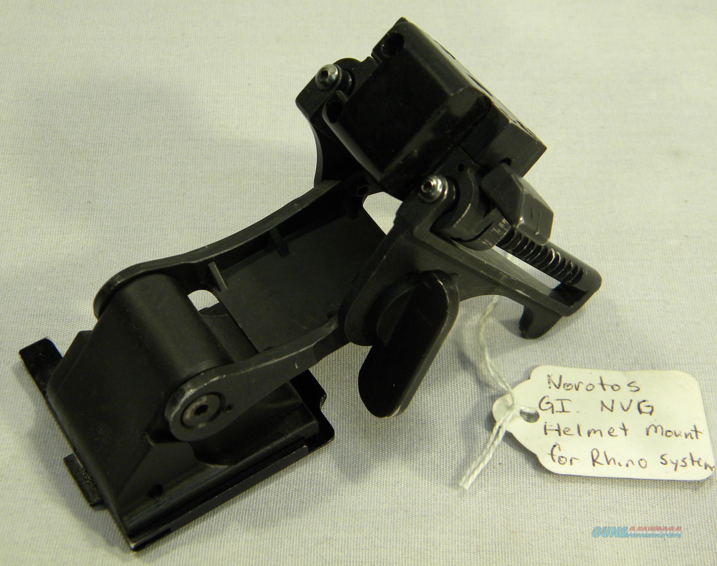 Norotos Helmet Mount For Rhino System  Non-Guns > Night Vision