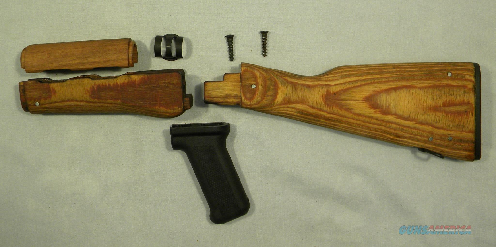 Laminated Wood AK Stock Sets, Sanded And Oiled, Free Shipping!  Non-Guns > Gunstocks, Grips & Wood