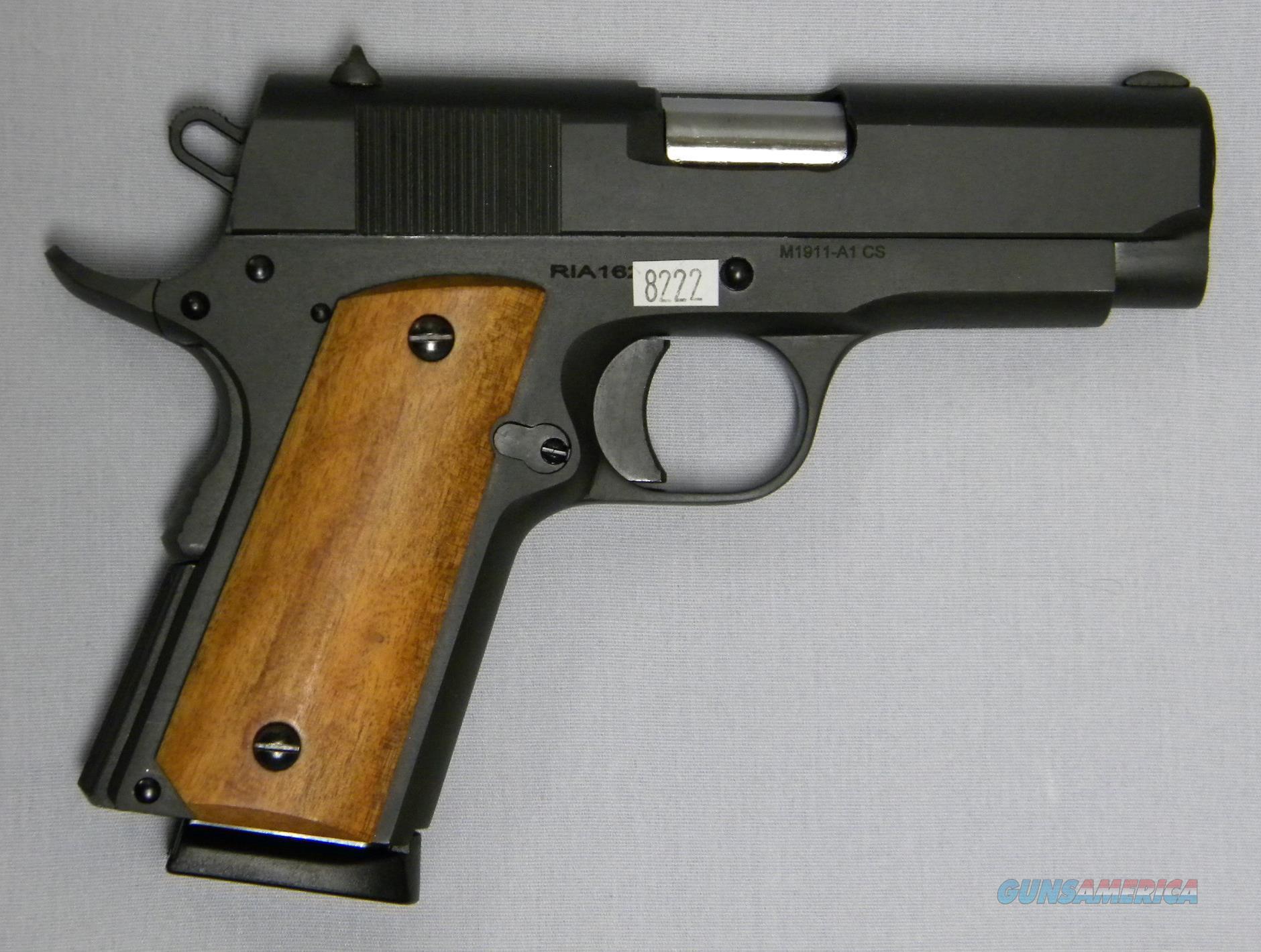 Armscorp/Rock Island Armory 1911-A1 CS, Compact .45 ACP  Guns > Pistols > Rock Island Armory Pistols