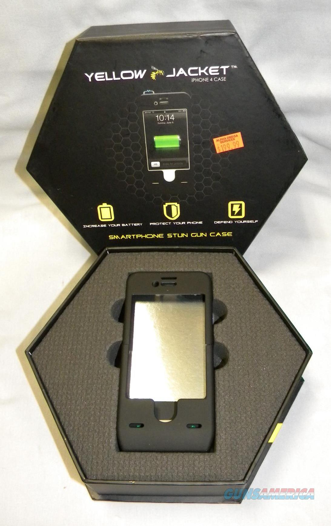 "BLOW-OUT SALE!! ""Yellow Jacket"" IPhone 4 Stun Gun Case   Non-Guns > Miscellaneous"