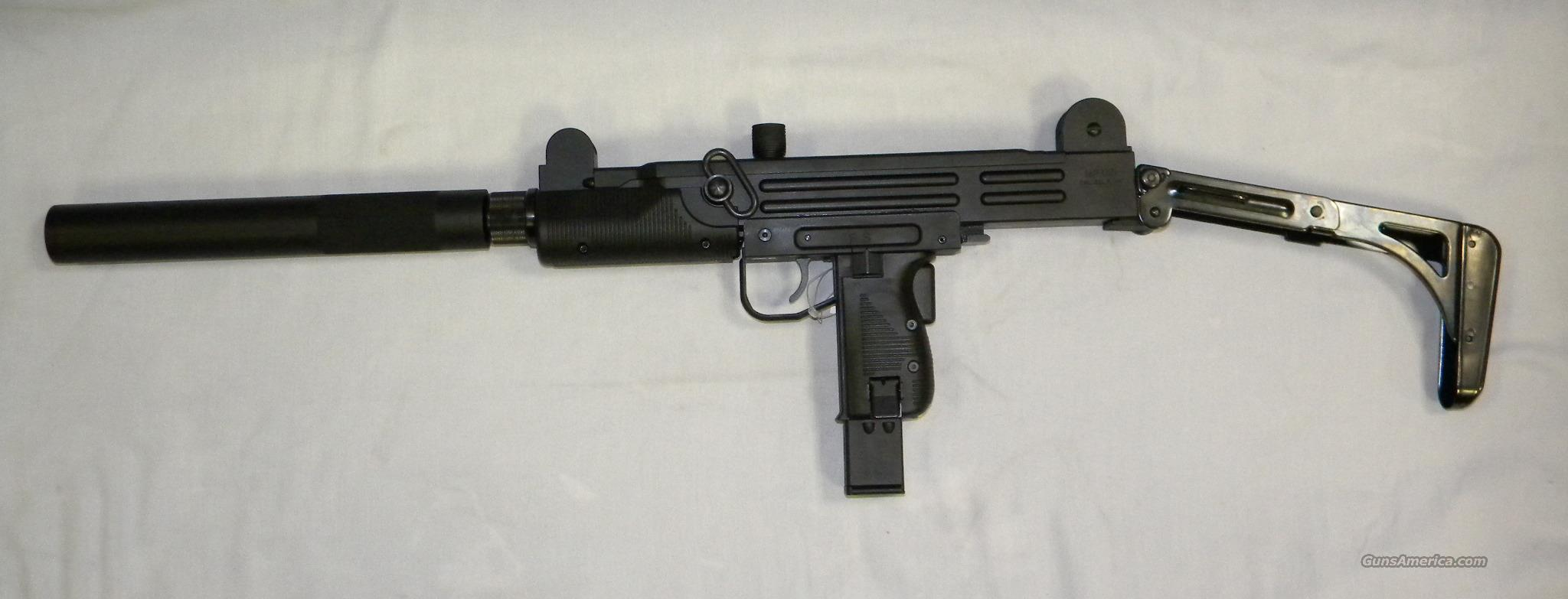 I.W.I./Walther MP-Uzi Rifle, .22 LR Semi-Auto  Guns > Rifles > Walther Rifles
