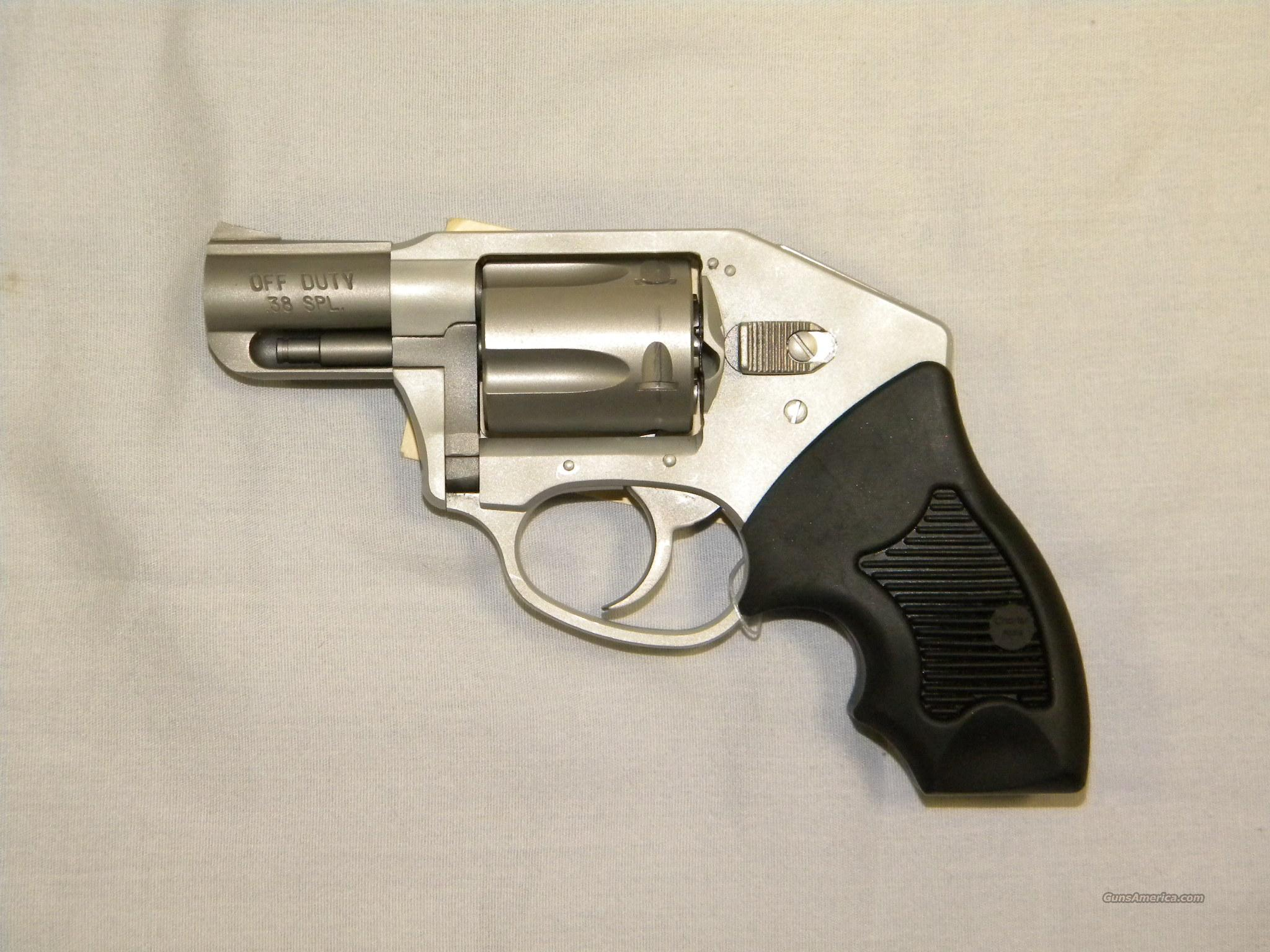 "Charter Arms ""Off Duty"", .38 Spl, Stainless Hammerless  Guns > Pistols > Charter Arms Revolvers"