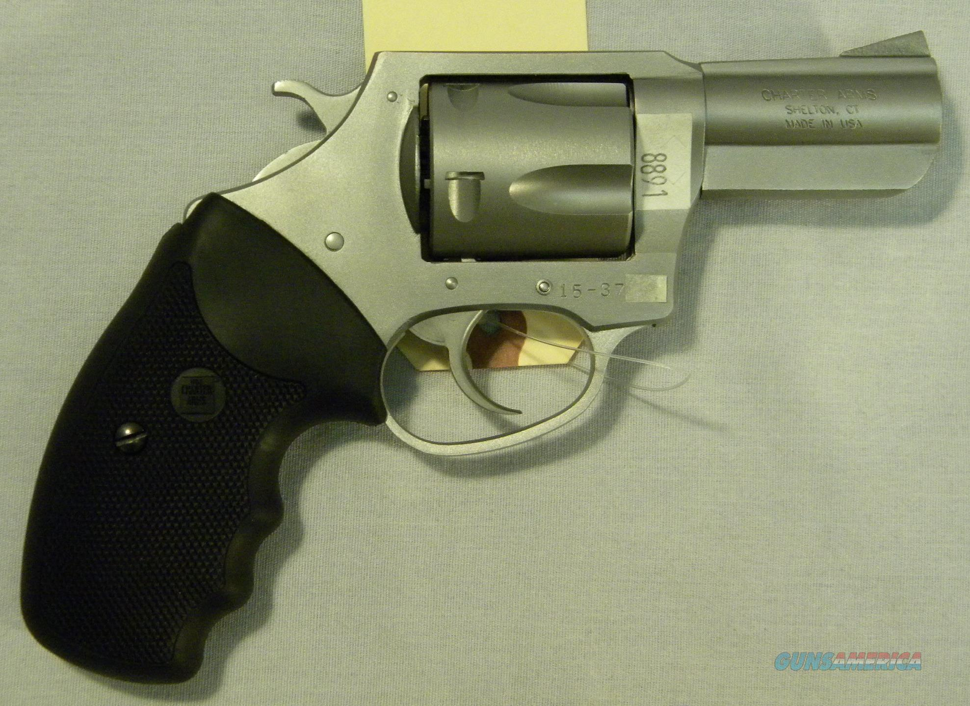 Charter Arms 'Bulldog', 2.5'', .44 Special, Stainless Revolver  Guns > Pistols > Charter Arms Revolvers