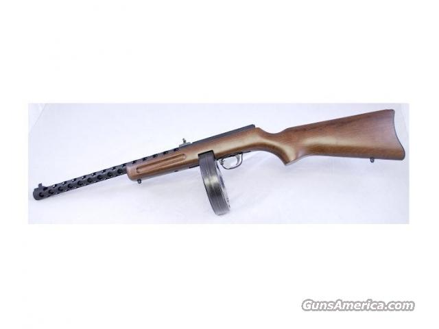 Internet Sale! Pietta/Puma PPS-50 Semi-Auto Rifle, .22LR, Wood Stock, 50-Rd Drum Mag  Guns > Rifles > PQ Misc Rifles