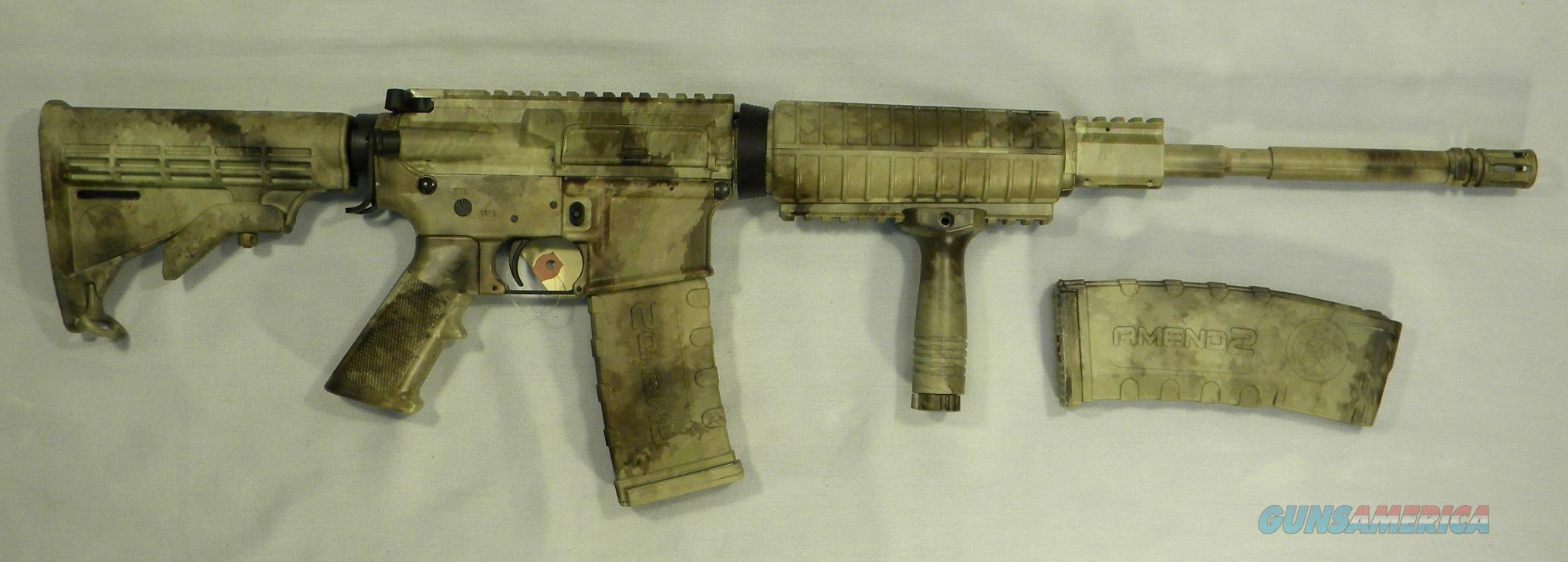 AR-15 Rifle, AOS Exclusive! LAR Grizzly-15 M4 Rifle In ''A-TACS'' Camo, 5.56 NATO/.223 Rem  Guns > Rifles > LAR/Grizzly Mfg. Co. Rifles