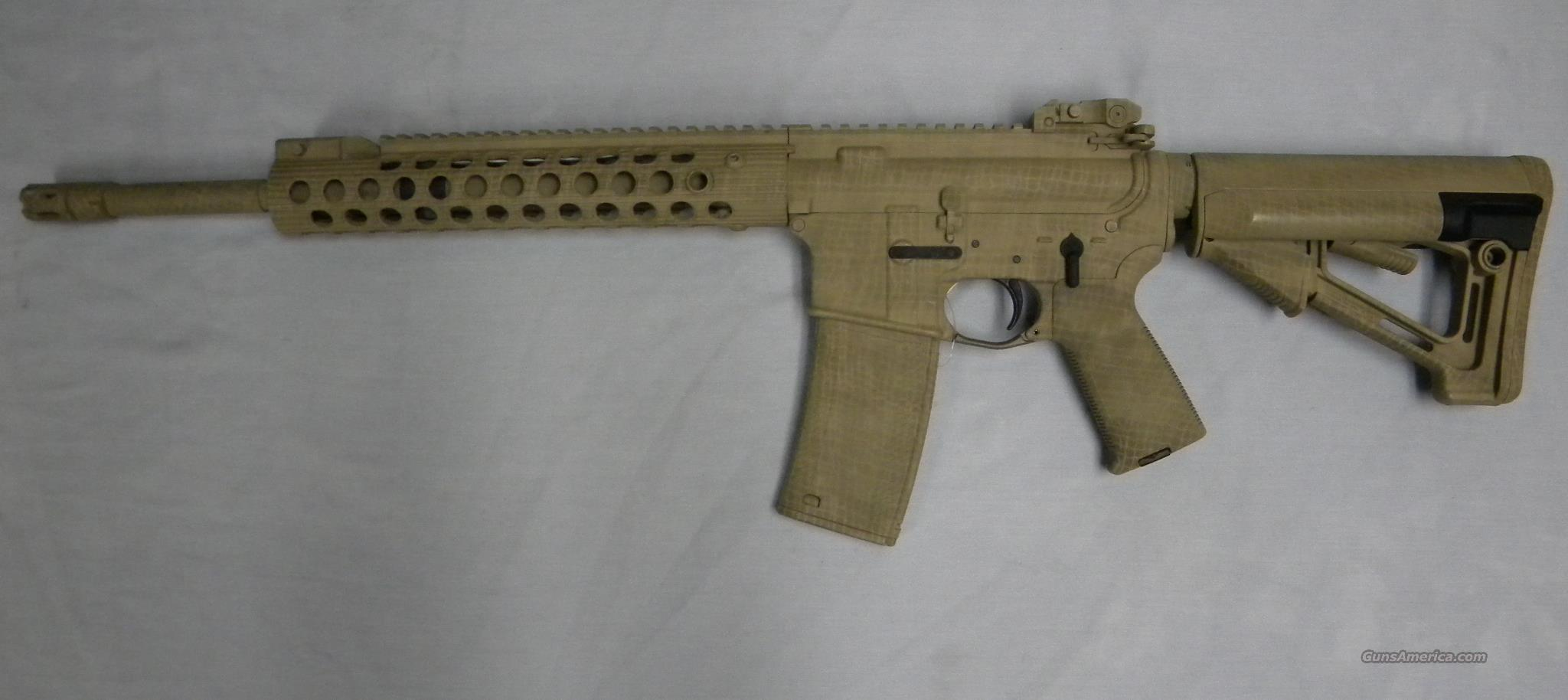Tactical Innovations T-15, .223/5.56 Desert Camo  Guns > Rifles > AR-15 Rifles - Small Manufacturers > Complete Rifle
